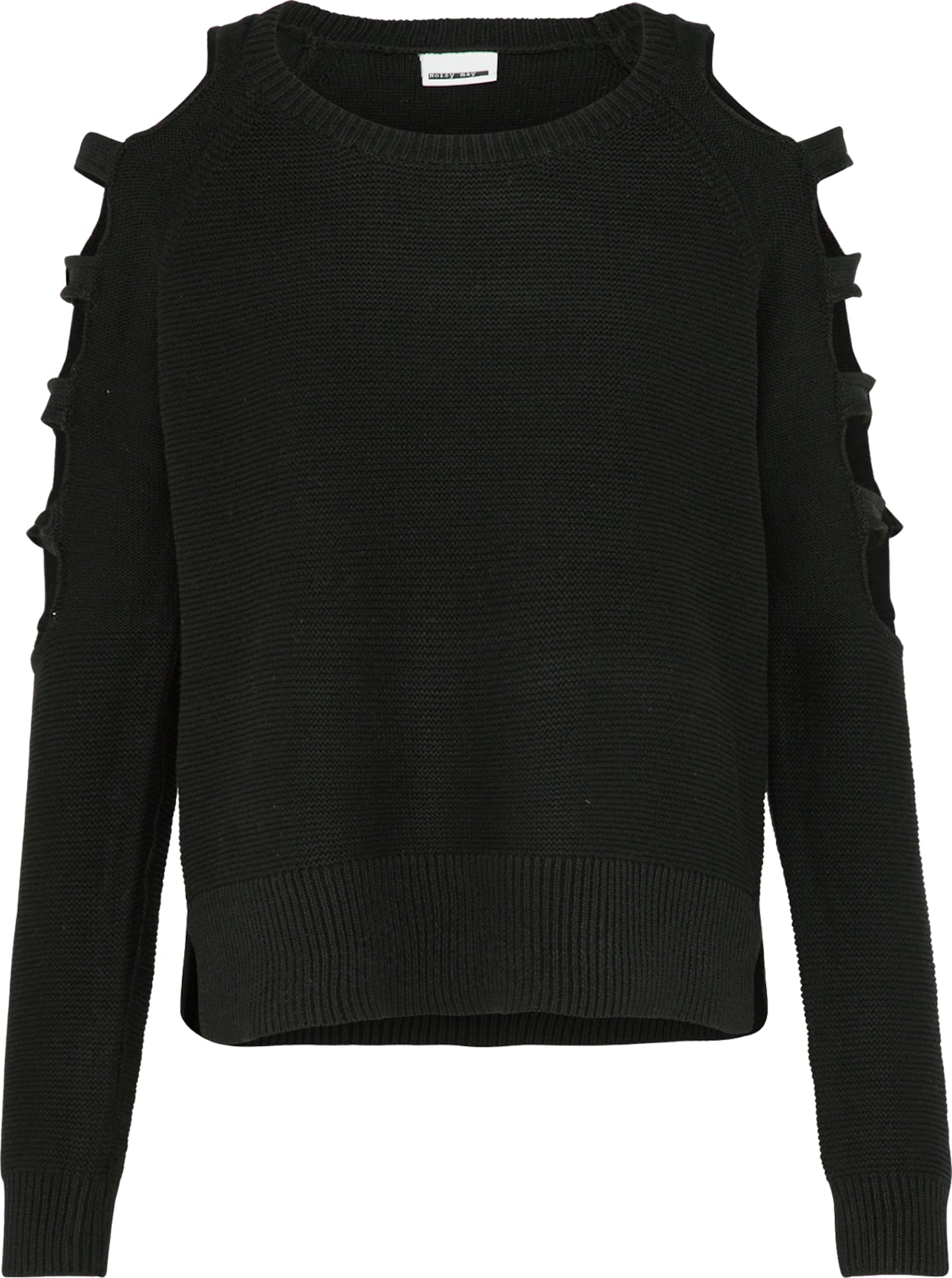 noisy may pullover mit cut outs 39 nmcansu l s knit top 39 in. Black Bedroom Furniture Sets. Home Design Ideas