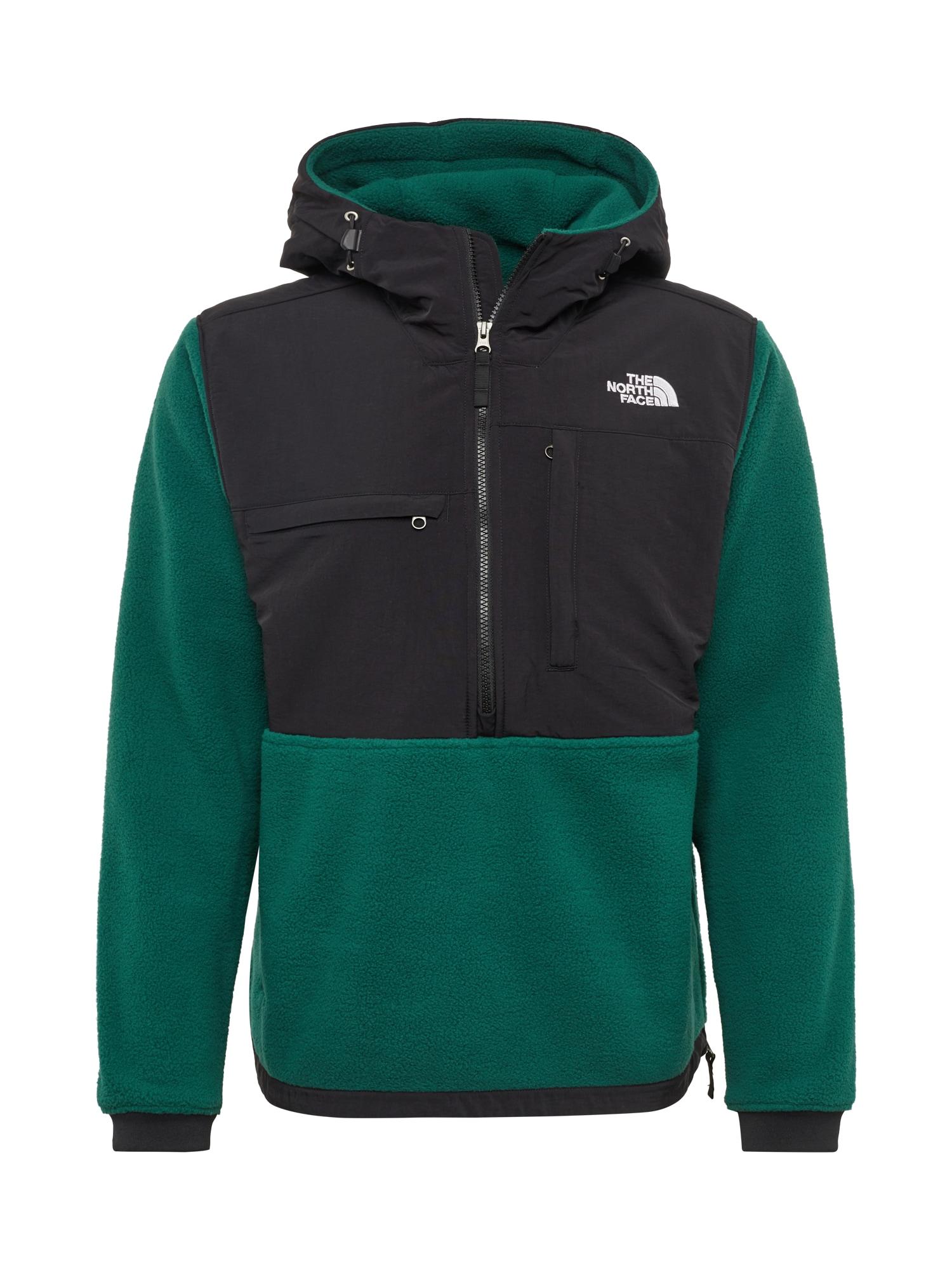 Přechodná bunda Denali tmavě zelená černá bílá THE NORTH FACE