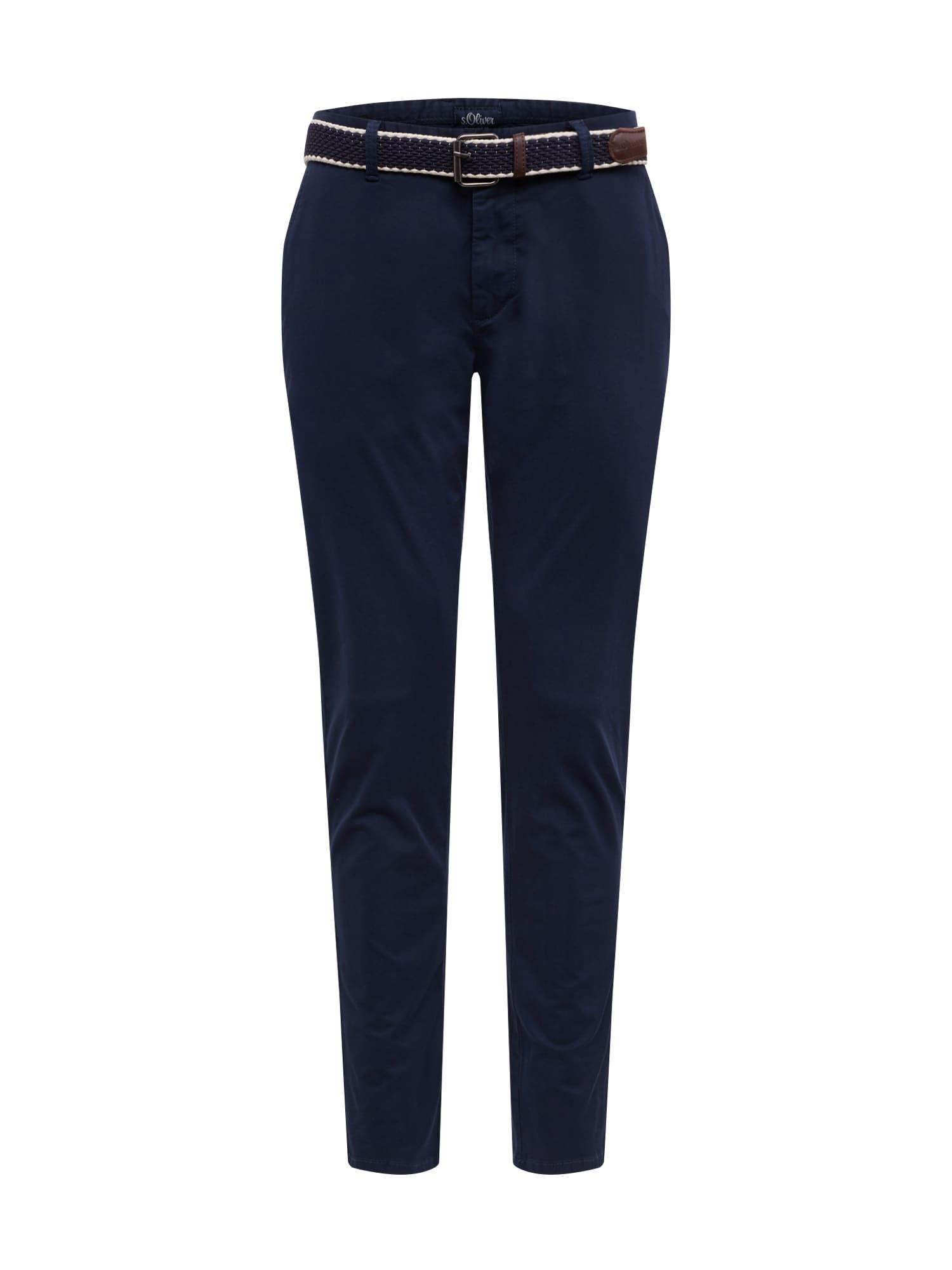 s.Oliver Chino kalhoty  tmavě modrá