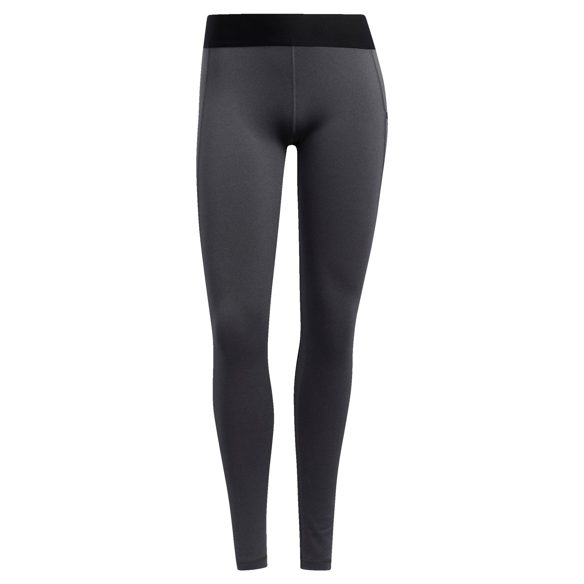 ADIDAS PERFORMANCE Sportinės kelnės 'Alphaskin' juoda / tamsiai pilka