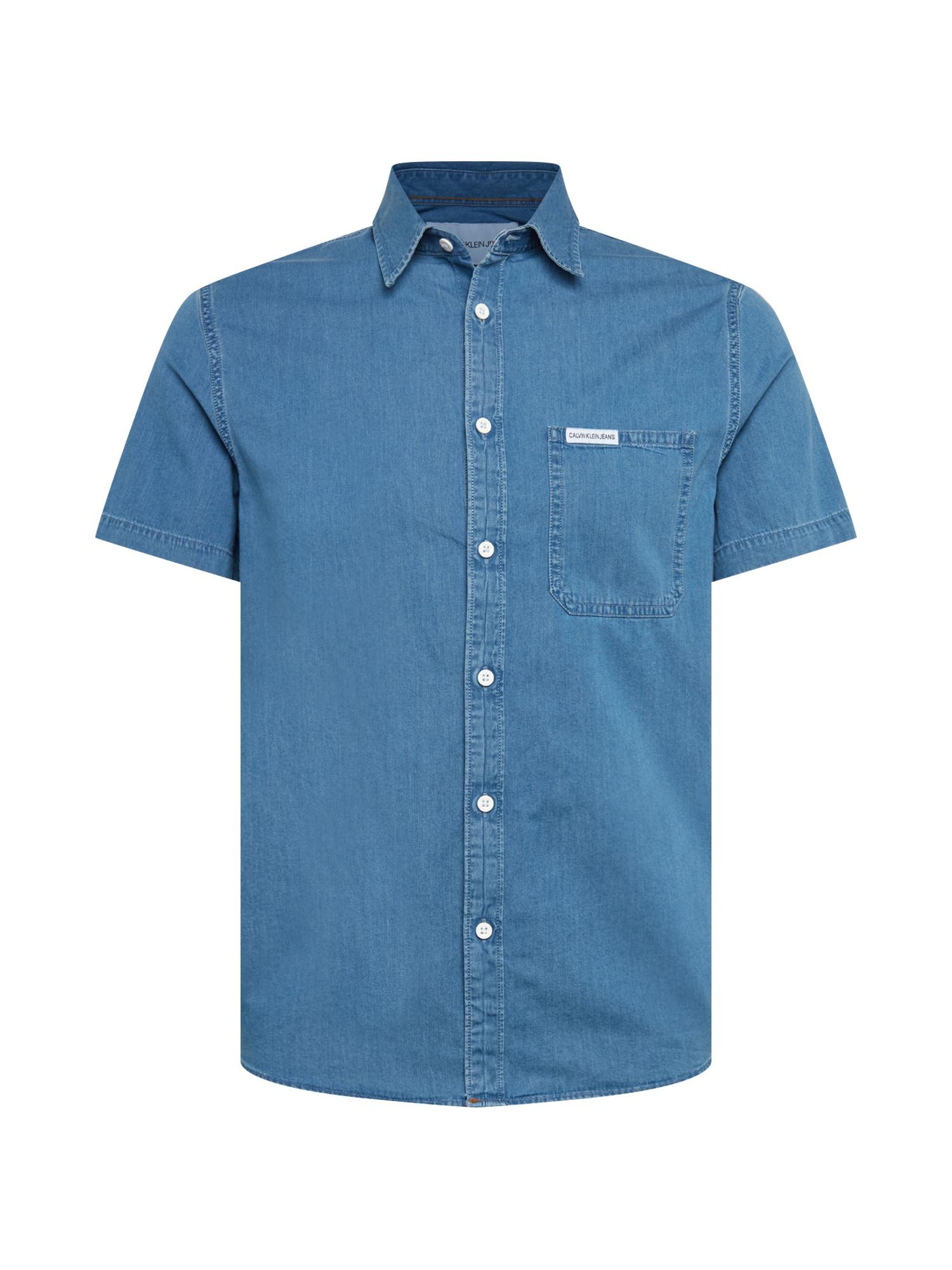 Košile INDIGO INSTIT POCKET REG SS indigo Calvin Klein Jeans