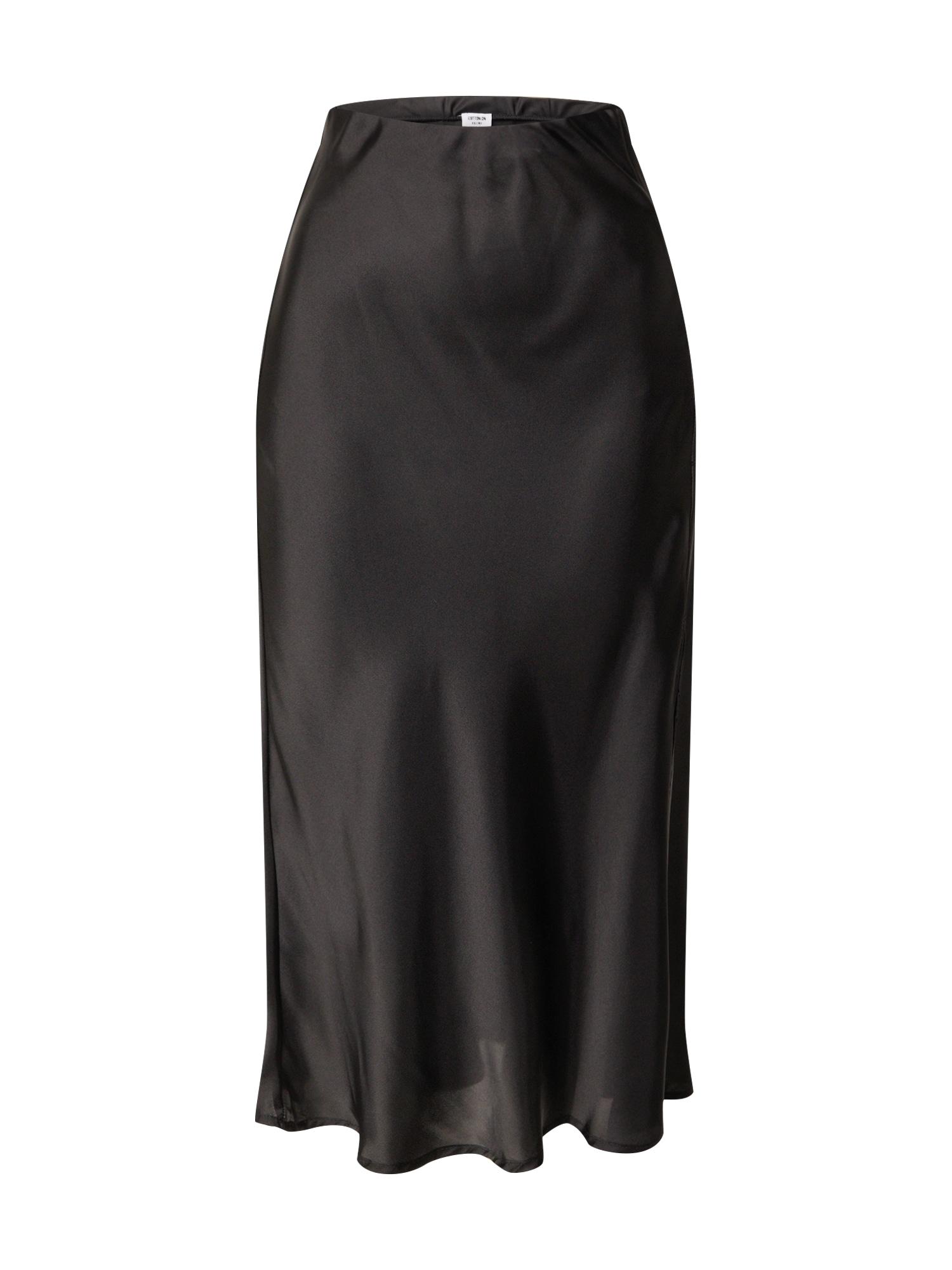 Cotton On Sukňa 'BELLE'  čierna