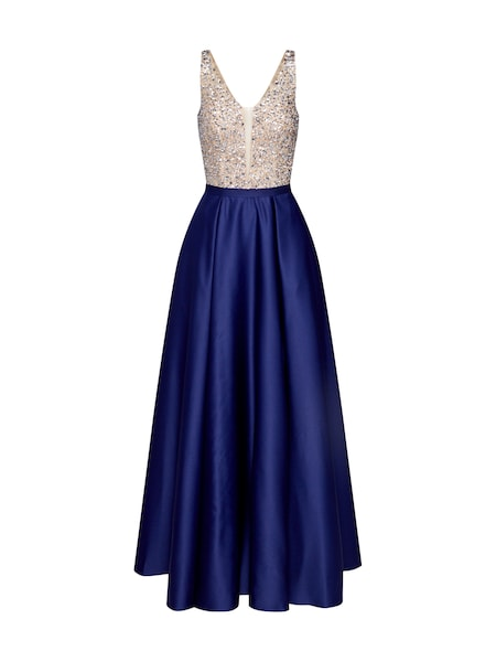 Festtagsmode für Frauen - Mascara Kleid navy  - Onlineshop ABOUT YOU