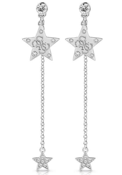 Ohrringe für Frauen - GUESS Ohrstecker 'Stella, UBE28017' silber  - Onlineshop ABOUT YOU