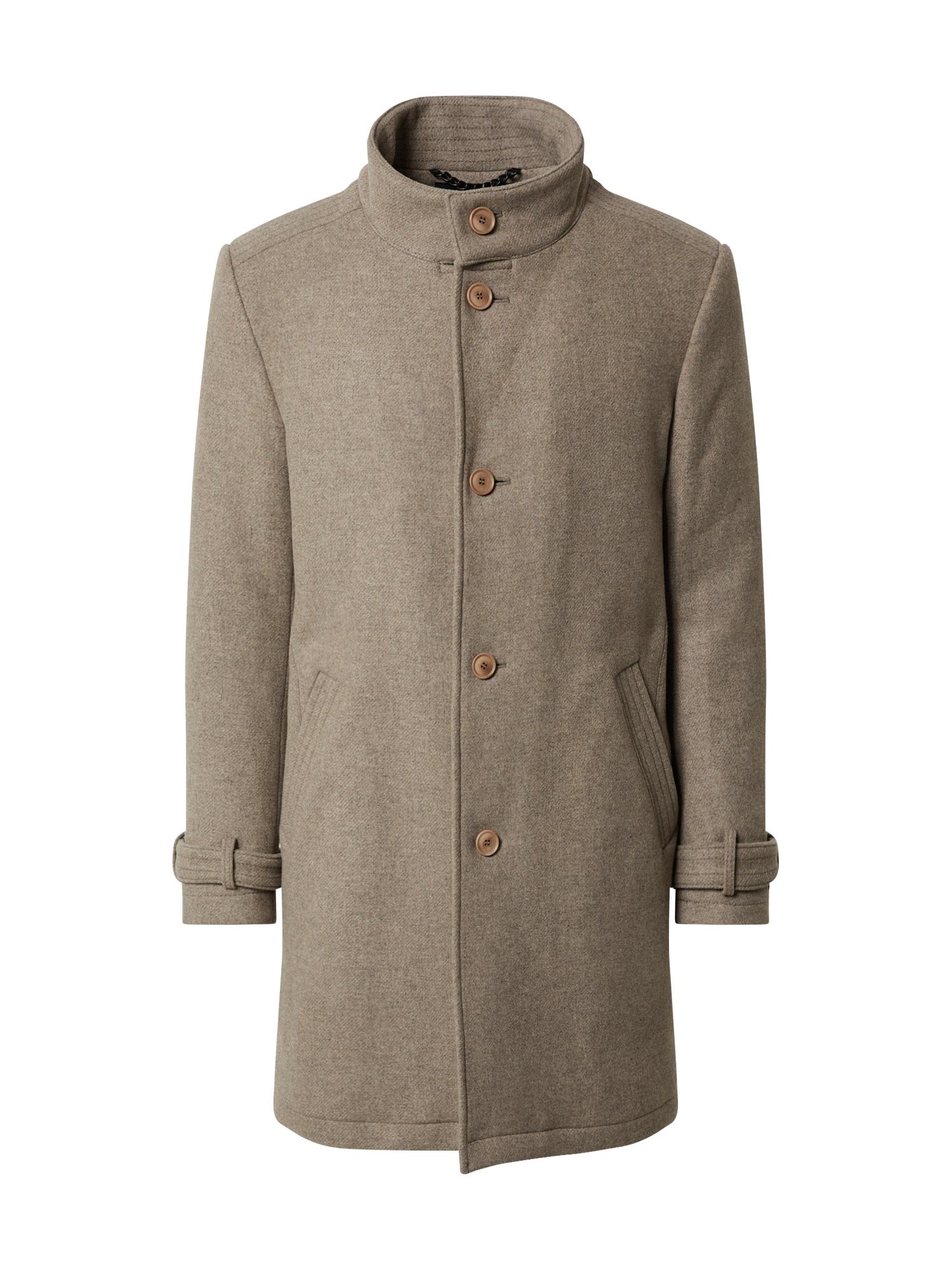 DRYKORN Rudeninis-žieminis paltas 'Onnex' rausvai pilka