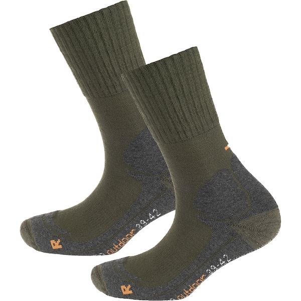 Socken für Frauen - Funktionssocken › Camano › graumeliert oliv  - Onlineshop ABOUT YOU