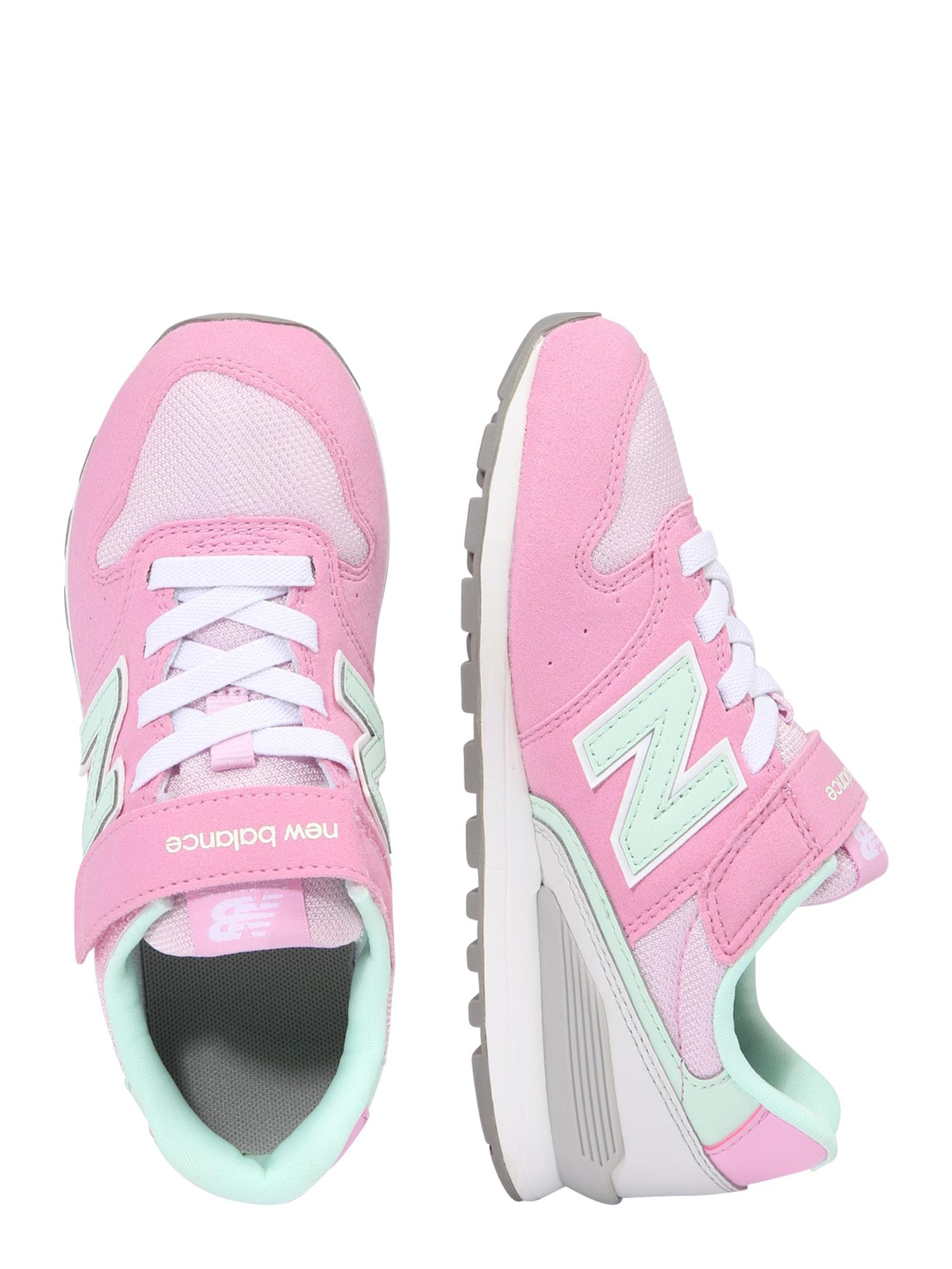 5ca7fb82b91 New Balance, Meisjes Sportschoen YV996 M, pink / wit