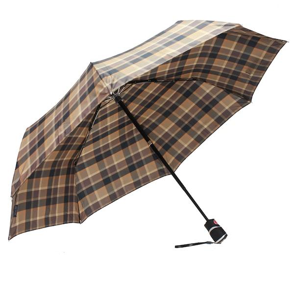 Regenschirme für Frauen - Taschenschirm 'Duomatic T3' › knirps › braun schwarz weiß  - Onlineshop ABOUT YOU