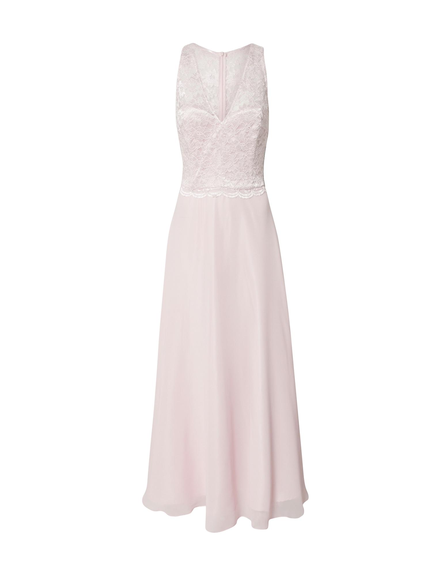 SWING Vakarinė suknelė pastelinė rožinė
