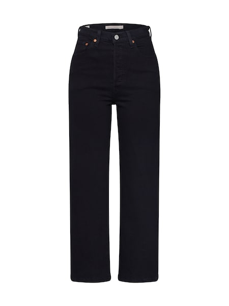 Hosen - Jeans 'RIBCAGE STRAIGHT ANKLE' › Levi's › schwarz  - Onlineshop ABOUT YOU