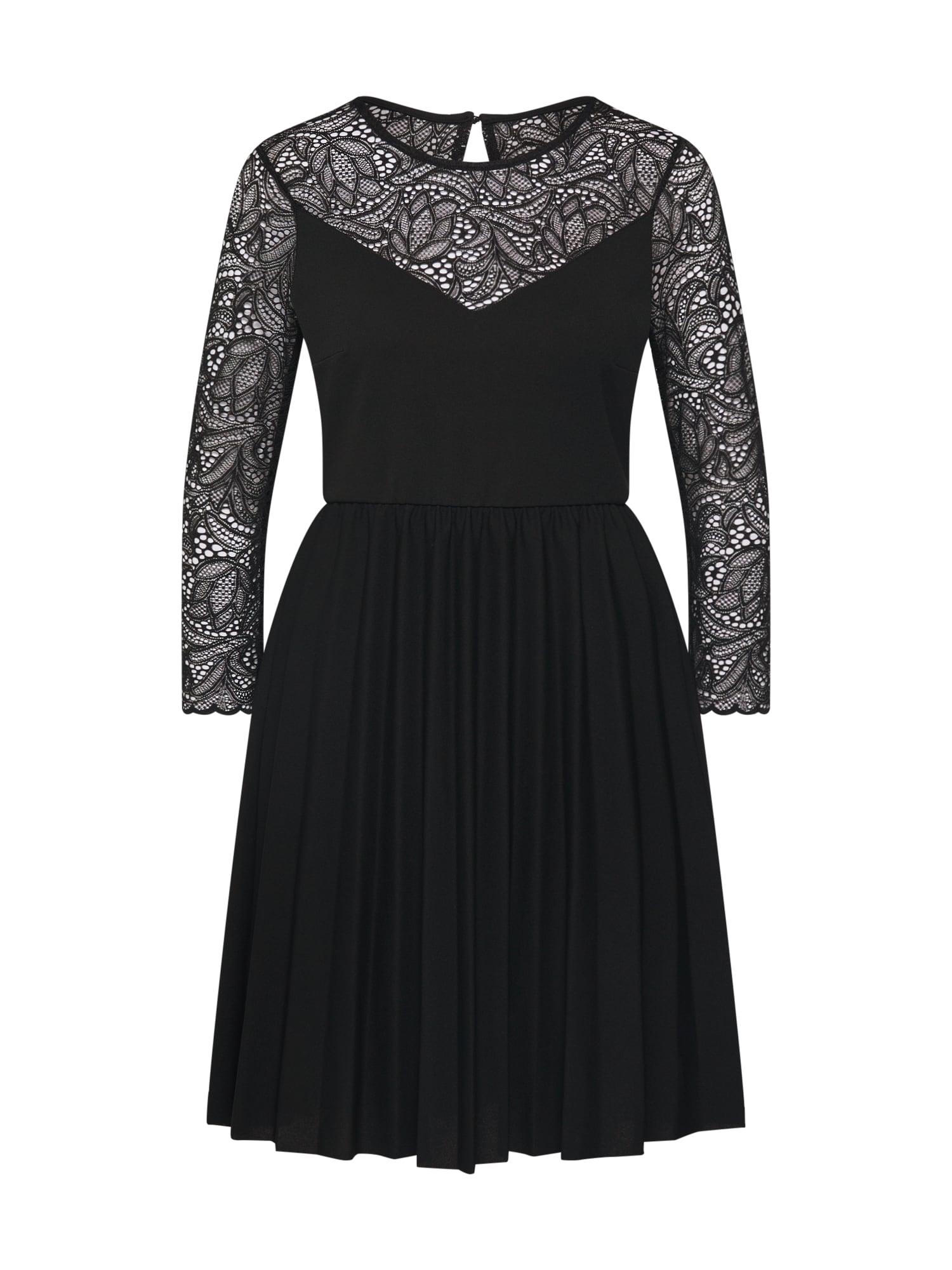 ABOUT YOU Kokteilinė suknelė 'Auguste' juoda