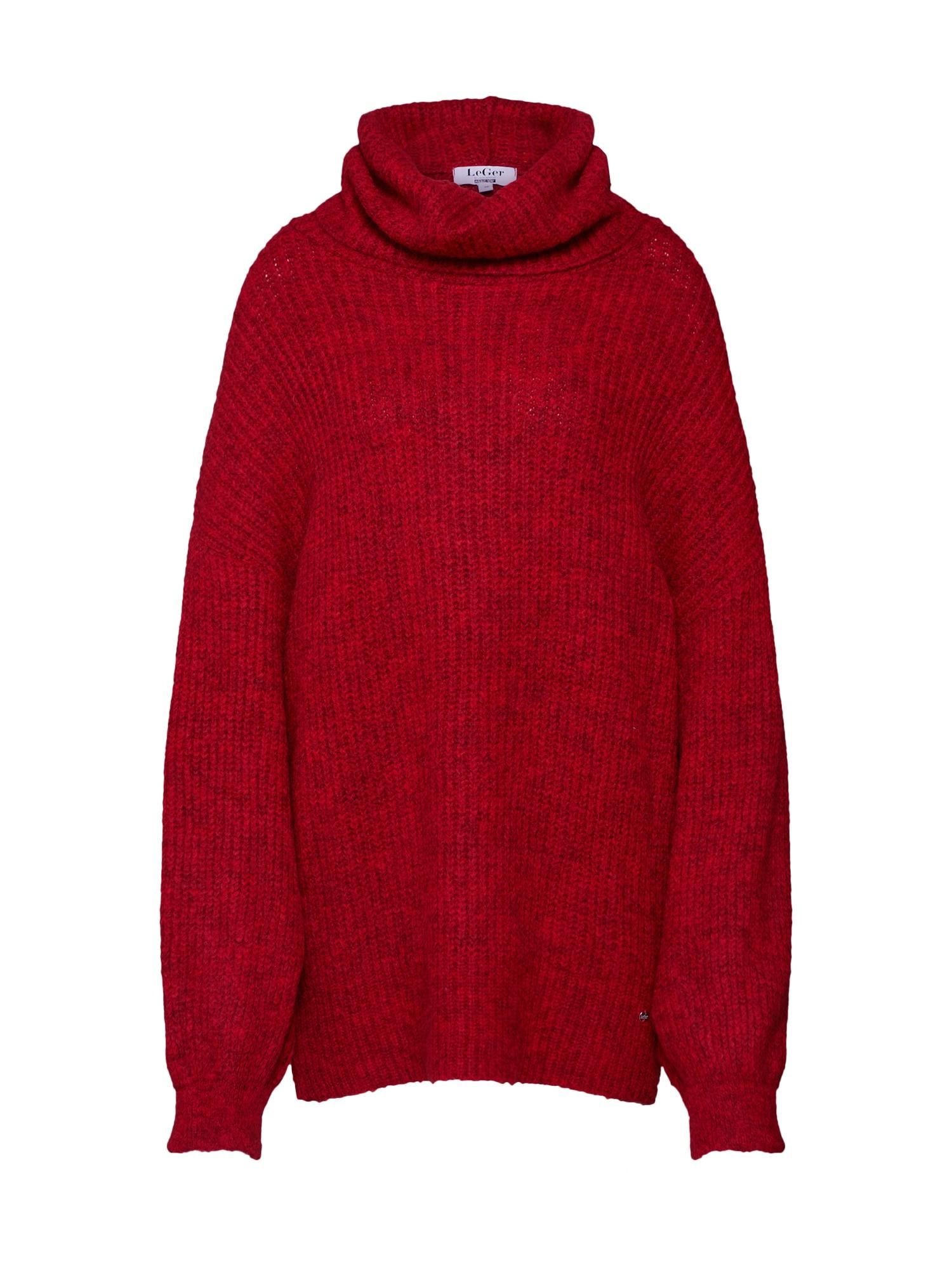 LeGer by Lena Gercke Laisvas megztinis 'Juna' raudona