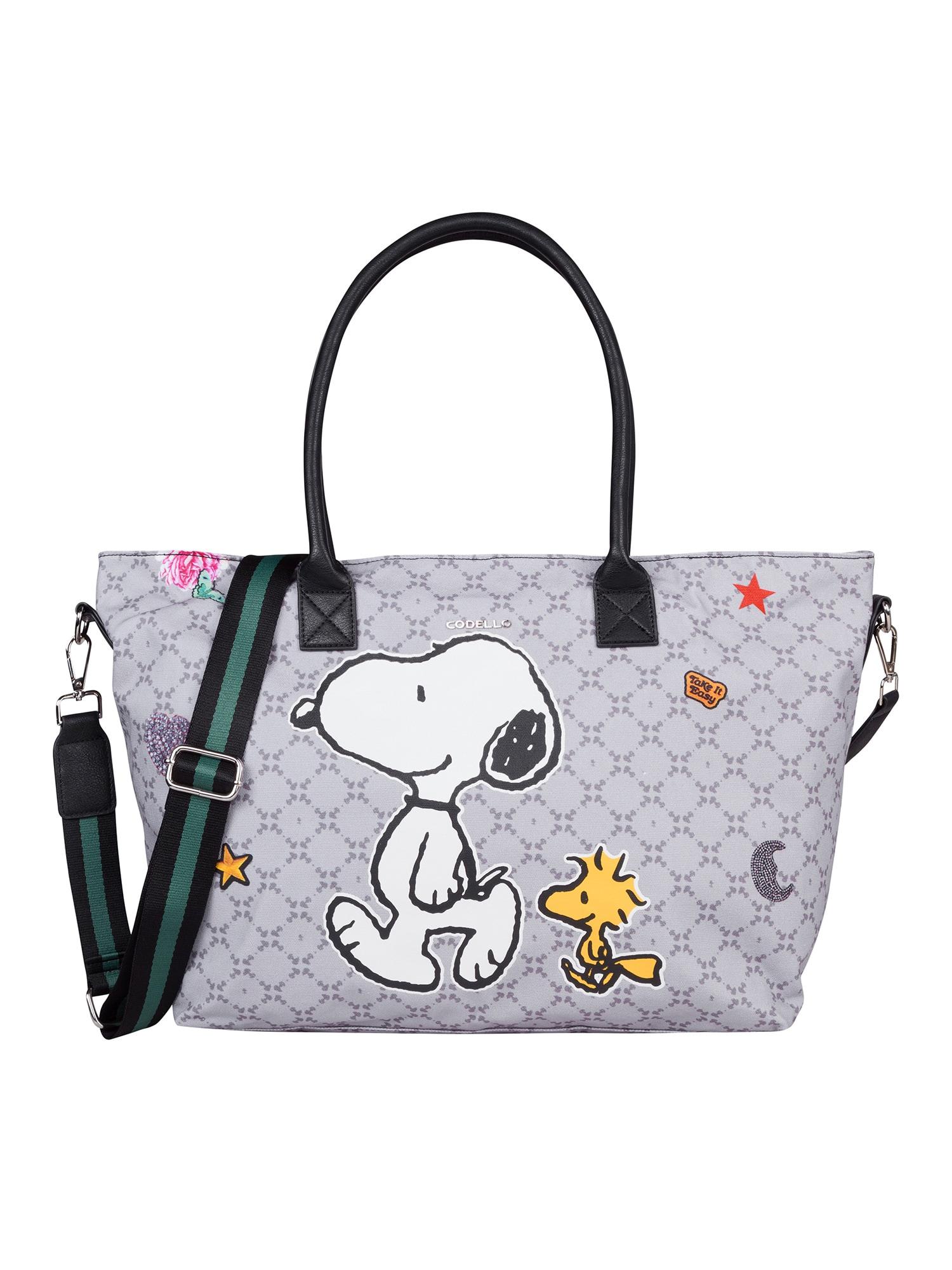 Nákupní taška X PEANUTS šedá mix barev CODELLO