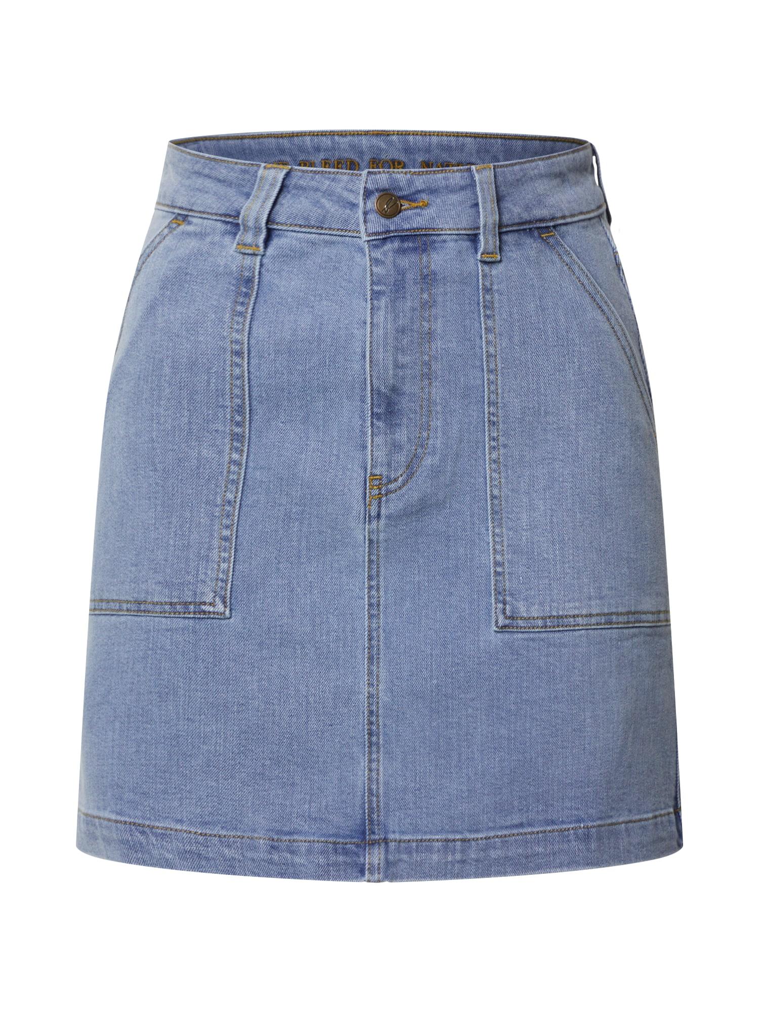bleed clothing Sijonas tamsiai (džinso) mėlyna