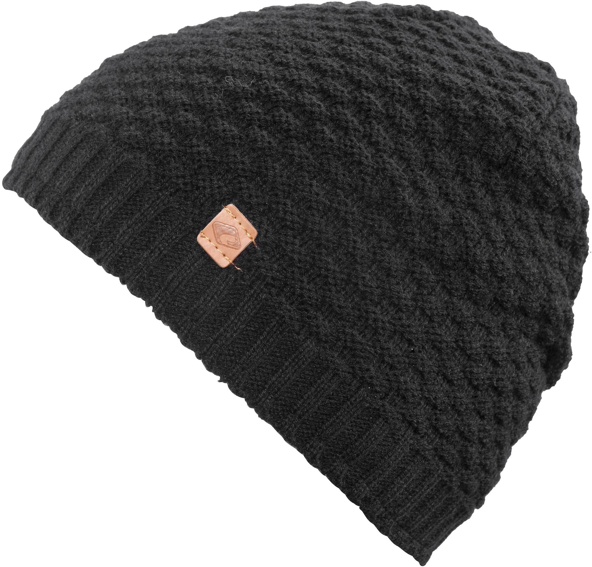 chillouts Megzta kepurė juoda
