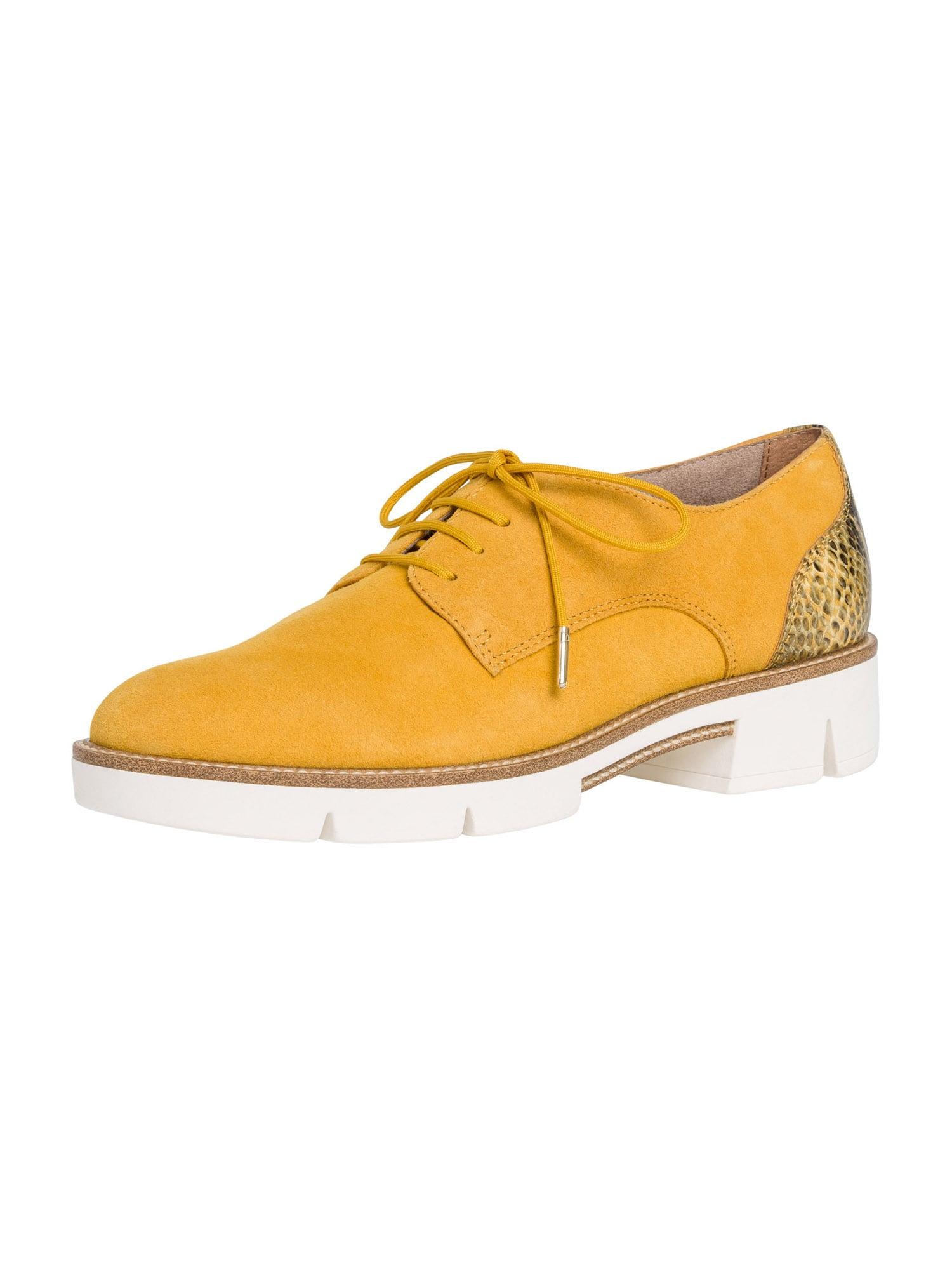 TAMARIS Batai su raišteliais geltona