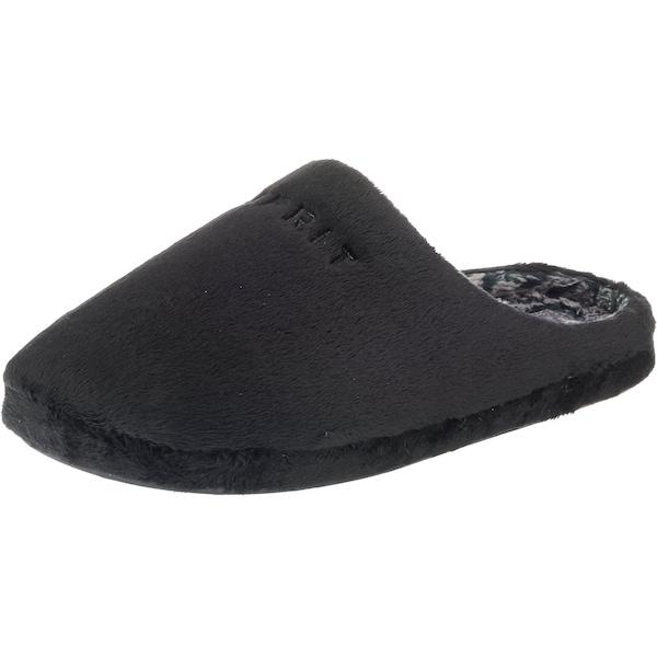 Hausschuhe für Frauen - ESPRIT Hausschuh 'Stitchy mule' grau schwarz  - Onlineshop ABOUT YOU