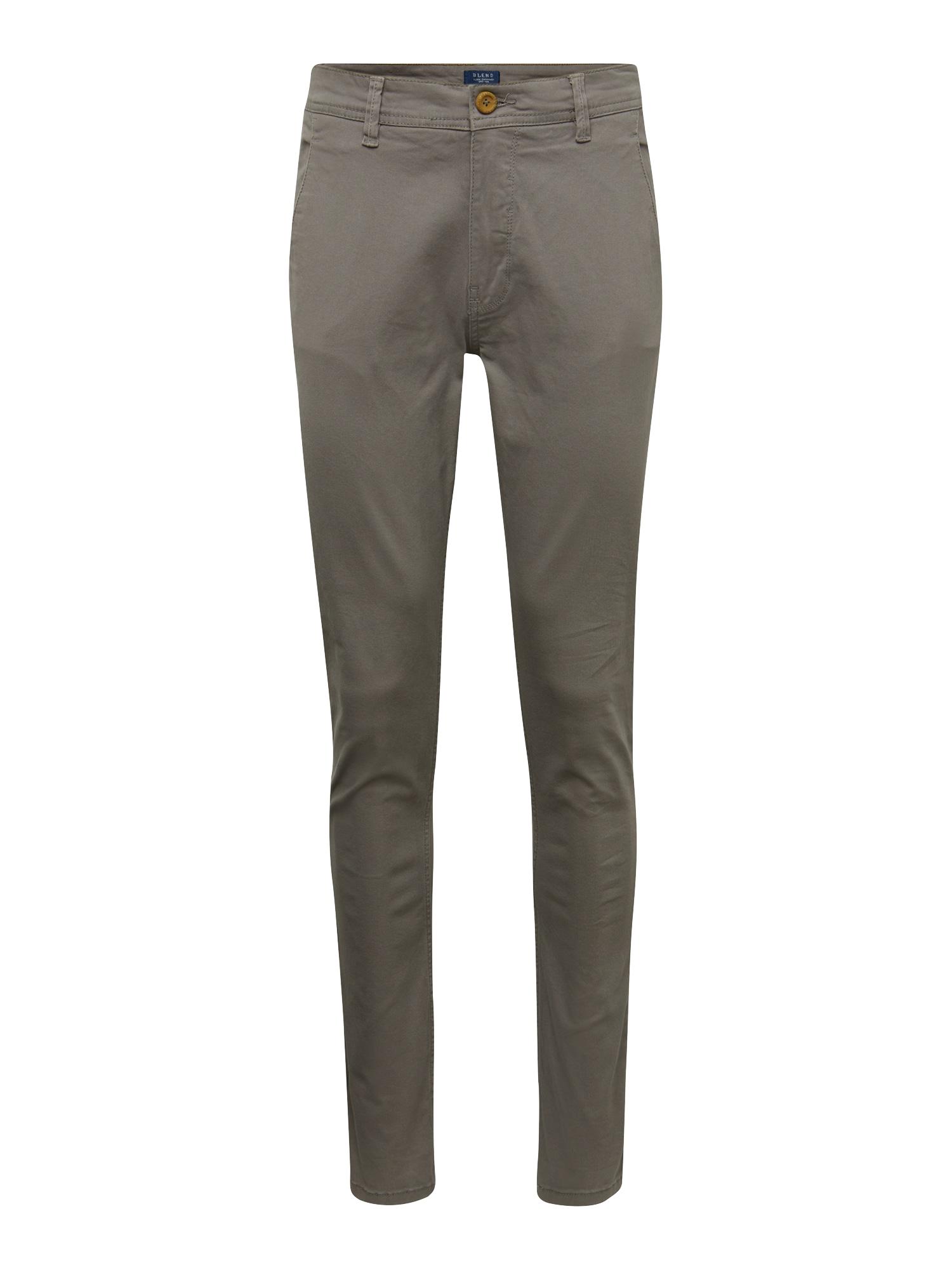 "BLEND ""Chino"" stiliaus kelnės purvo spalva"