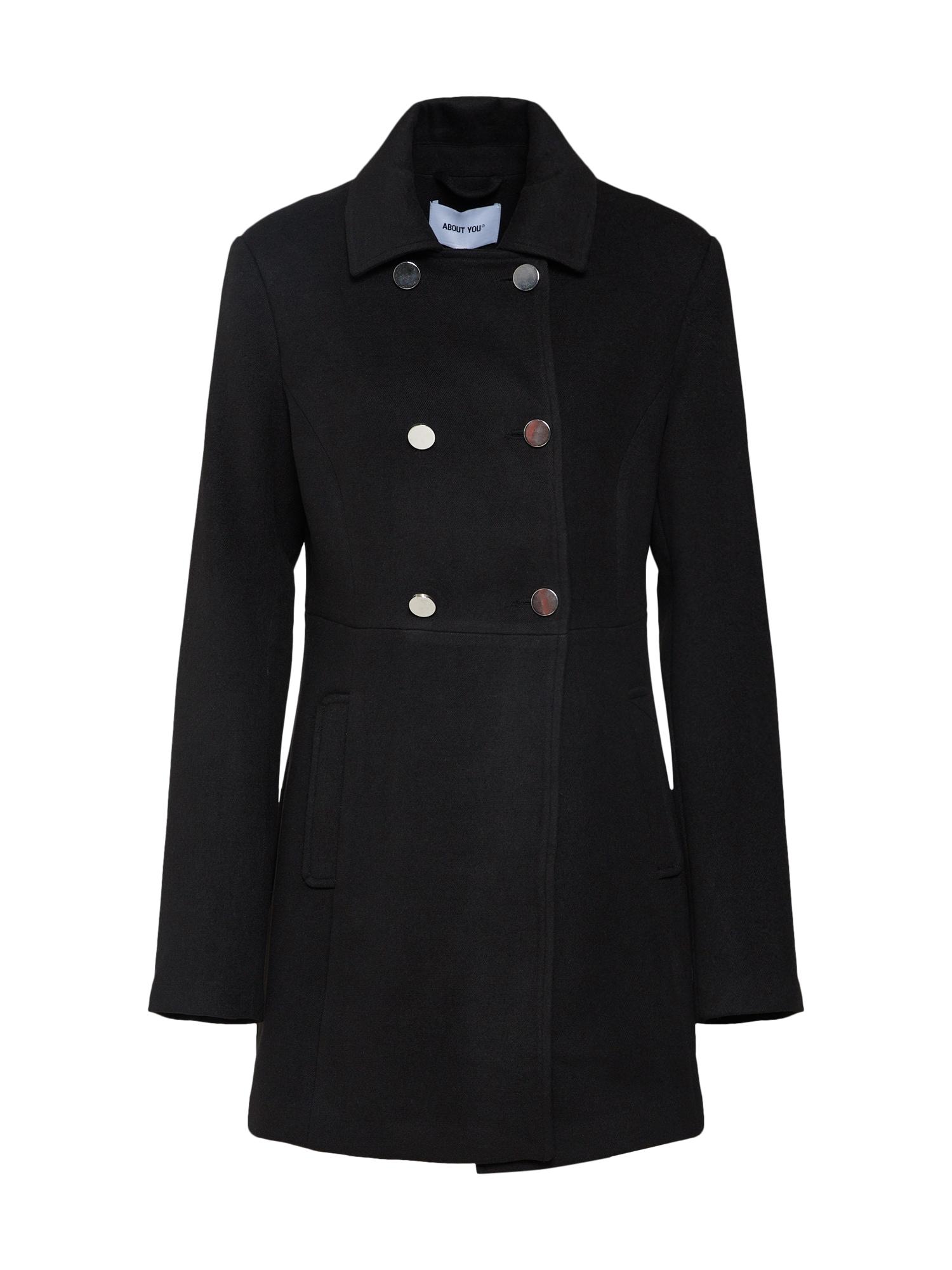 ABOUT YOU Rudeninis-žieminis paltas 'Dina' juoda