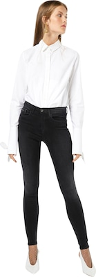 Calvin Klein Jeans 'Pirate Black' Skinny High Waist Jeans