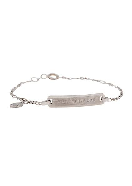 Armbaender für Frauen - FIRETTI ID Armband mit Anhänger silber  - Onlineshop ABOUT YOU