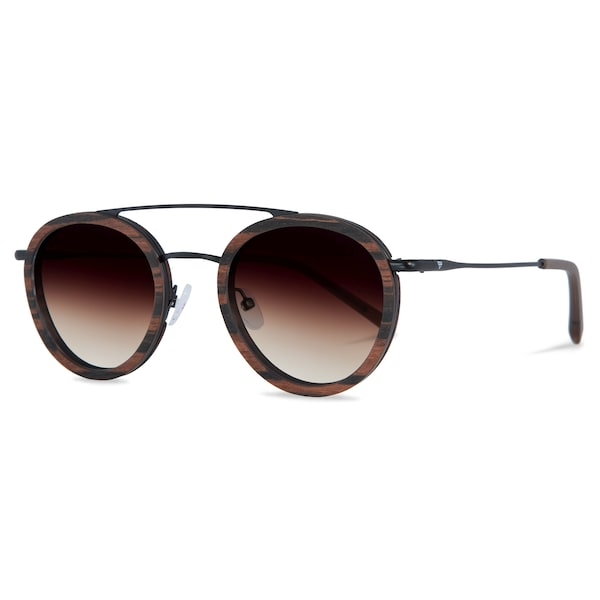 Sonnenbrillen für Frauen - Kerbholz Sonnenbrille 'Berthold' braun  - Onlineshop ABOUT YOU