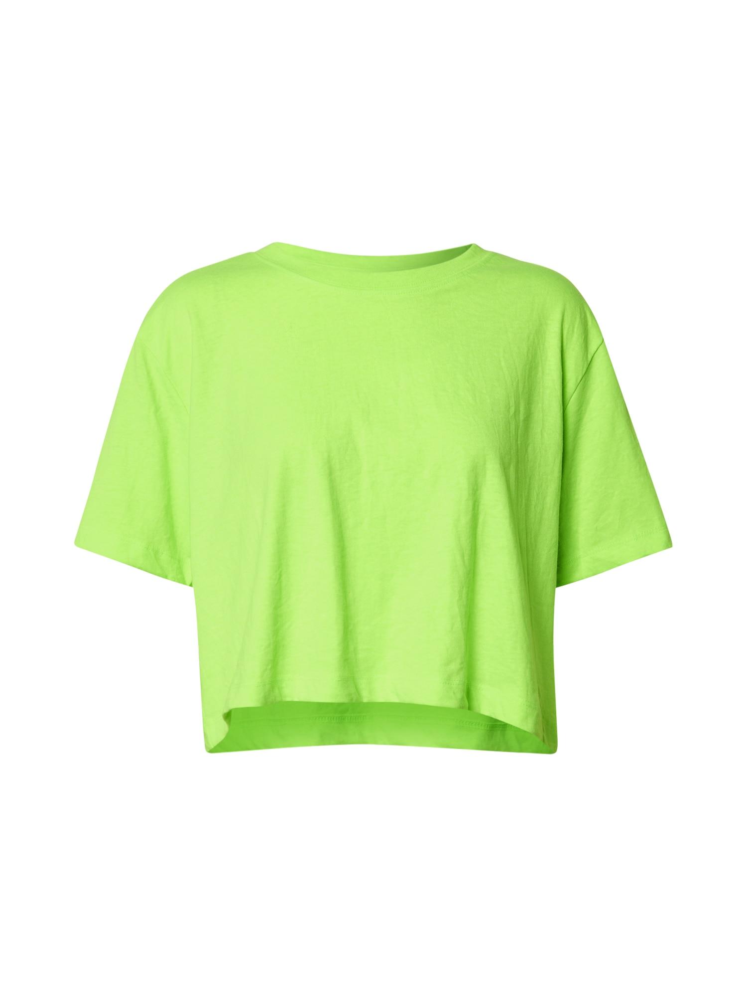Urban Classics Tricou  verde neon