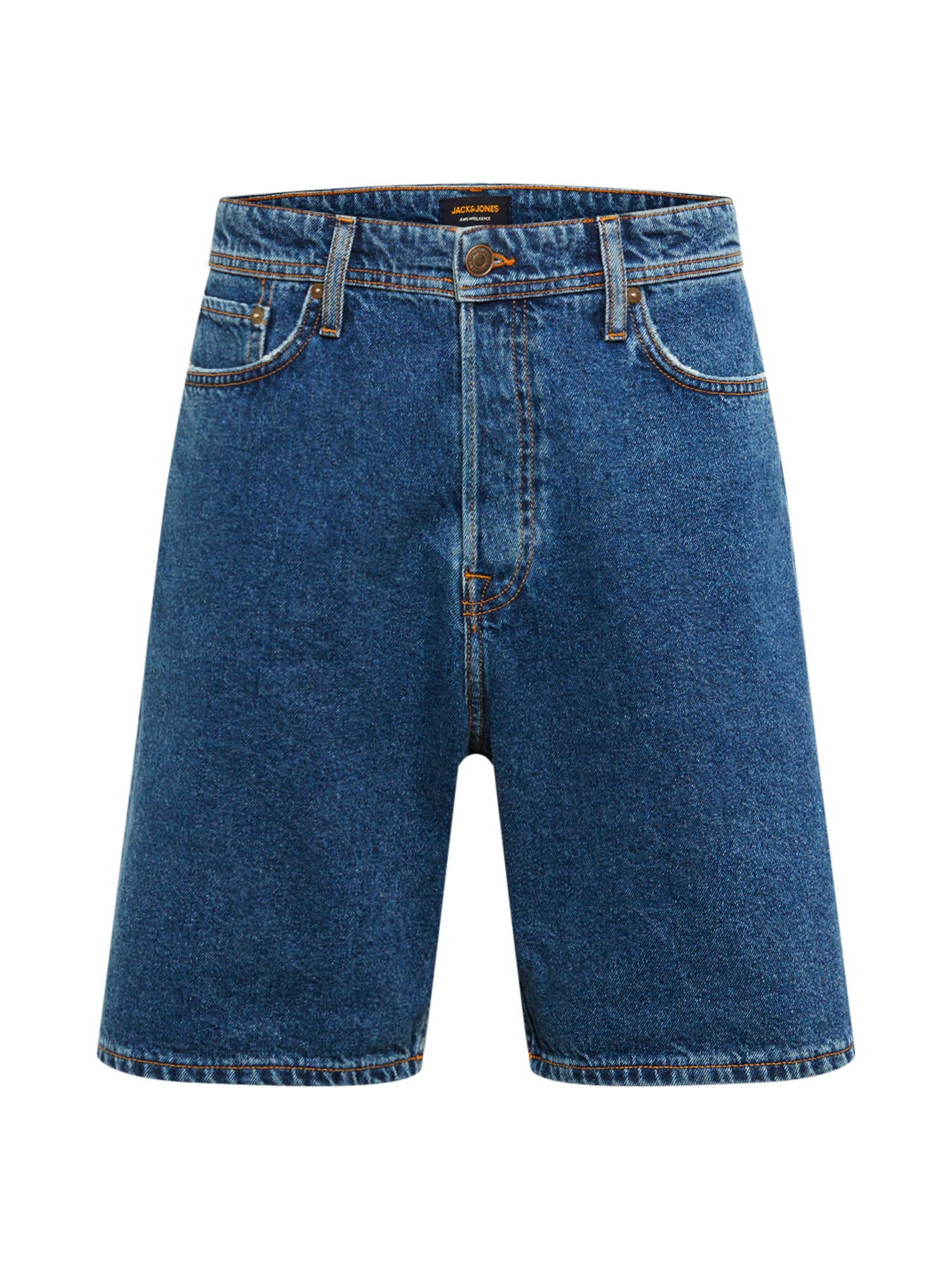 Džíny JJITONY JJORIGINAL SHORTS CJ 025 modrá JACK & JONES