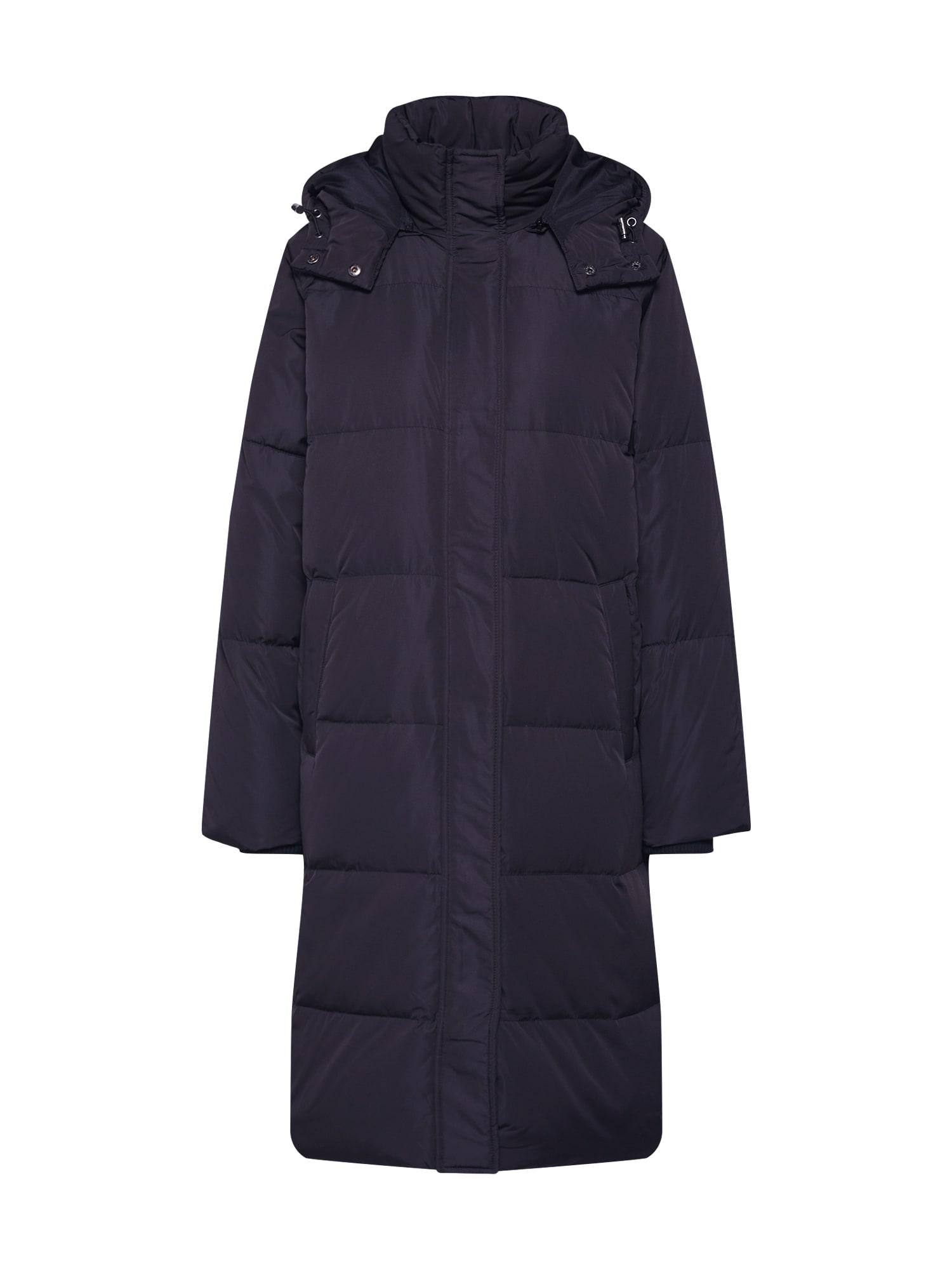 MOSS COPENHAGEN Žieminis paltas 'Skylar' juoda