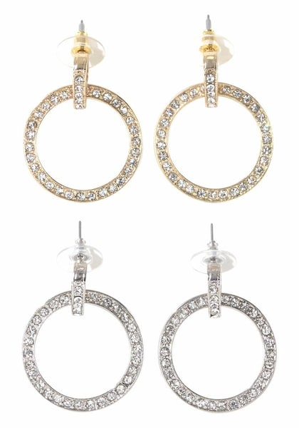 Ohrringe für Frauen - J. Jayz Ohrstecker Set gold silber  - Onlineshop ABOUT YOU