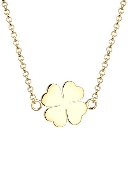 Ketten für Frauen - ELLI Halskette 'Kleeblatt' gold  - Onlineshop ABOUT YOU