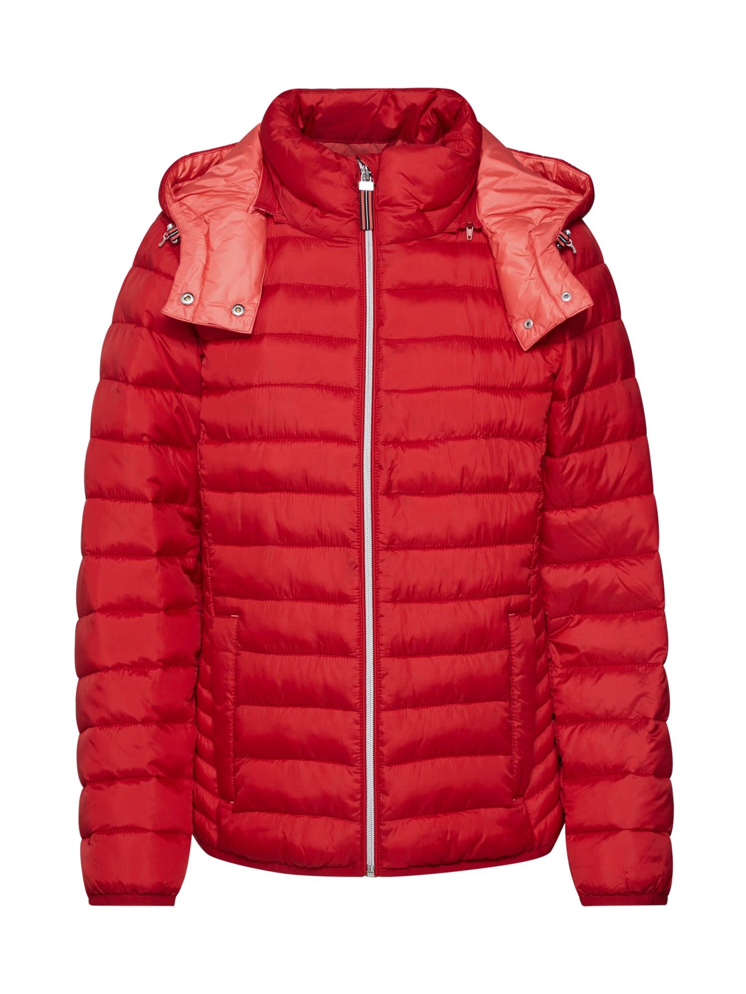 ESPRIT Demisezoninė striukė '3M Thinsulate Jacket' raudona