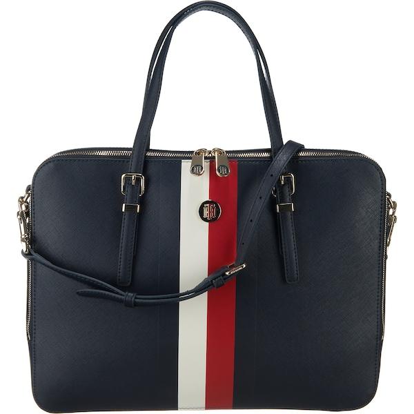 Handtaschen für Frauen - Handtasche 'Honey' › Tommy Hilfiger › kobaltblau rot weiß  - Onlineshop ABOUT YOU