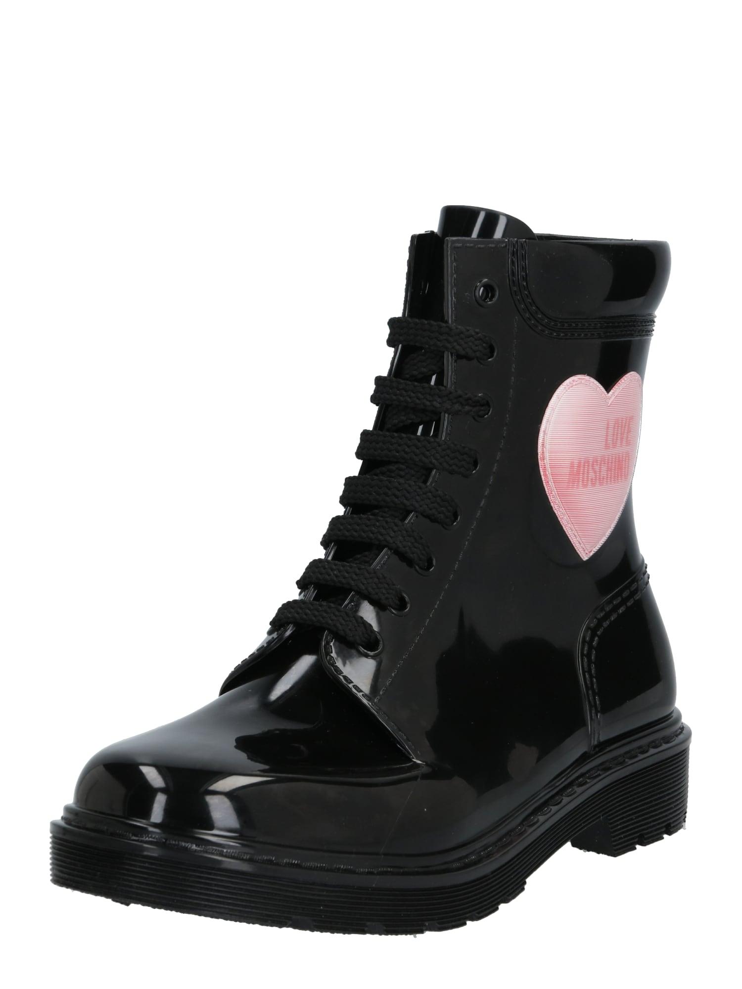 Love Moschino Suvarstomieji kulkšnis dengiantys batai