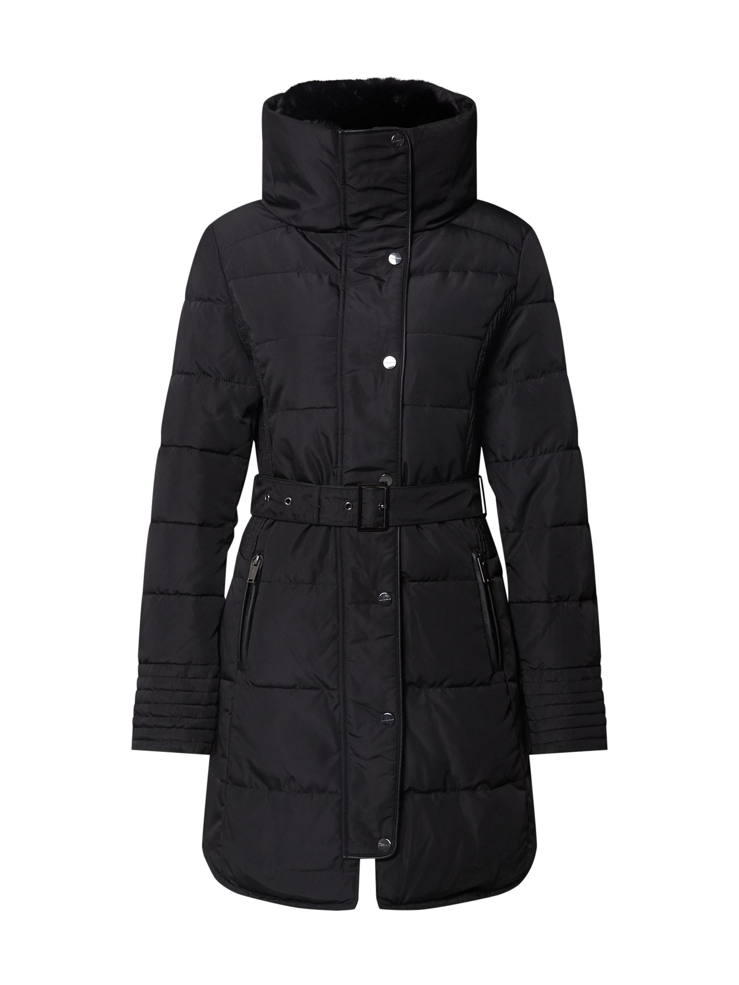RINO & PELLE Žieminis paltas juoda