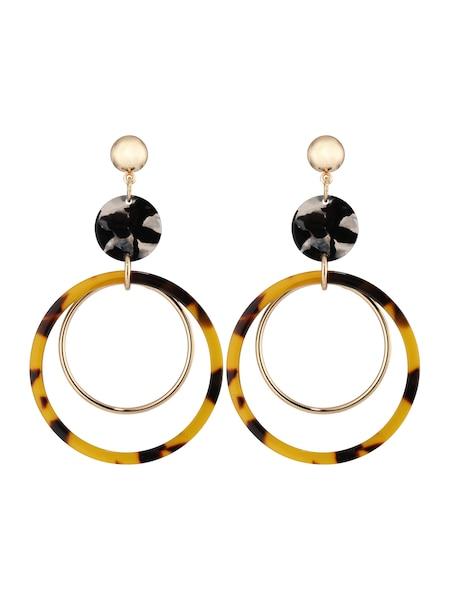 Ohrringe für Frauen - ABOUT YOU Ohrringe 'Kim' braun gold  - Onlineshop ABOUT YOU