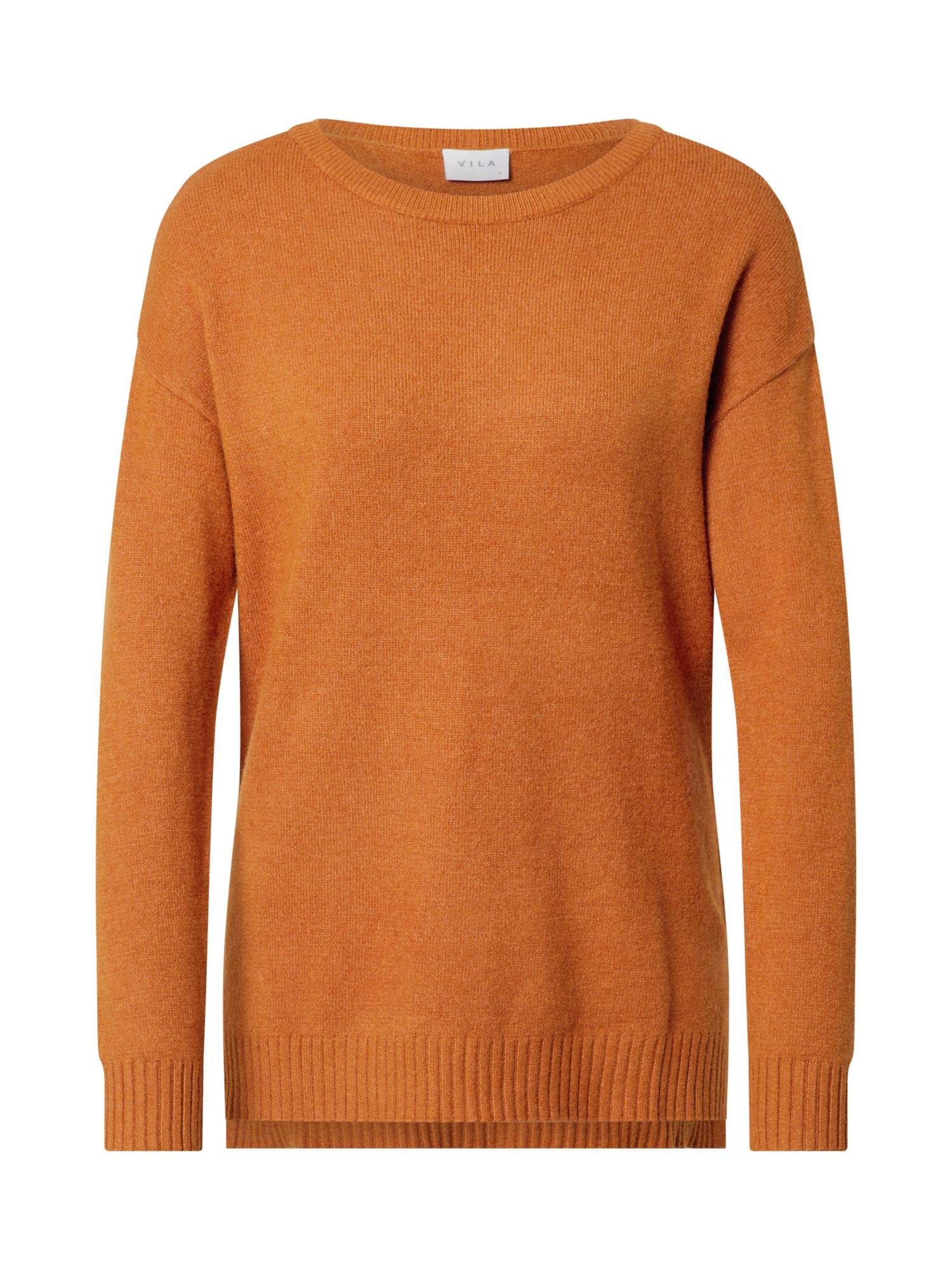 VILA Megztinis kario spalva