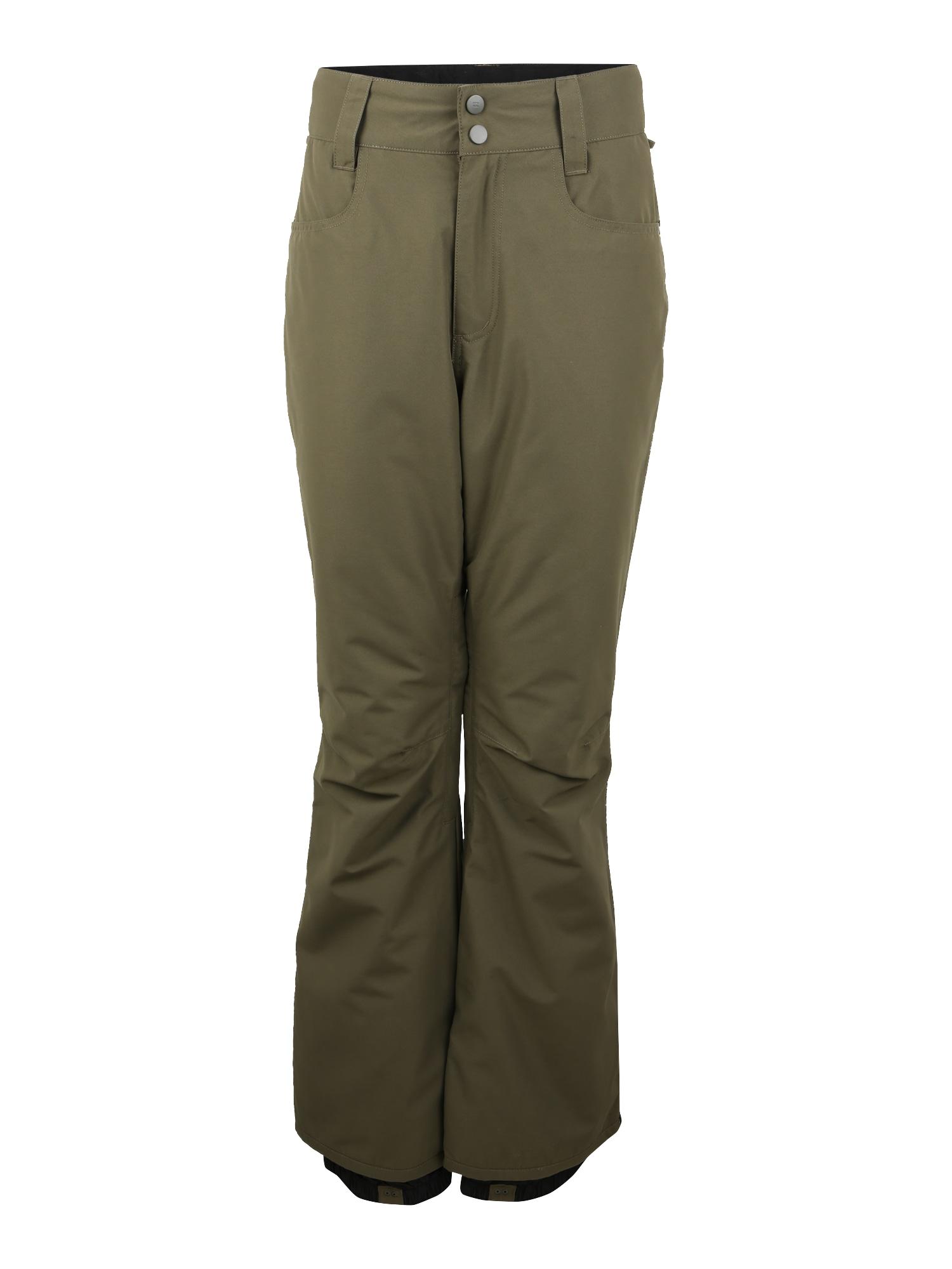BILLABONG Sportinės kelnės 'Outsider' rusvai žalia