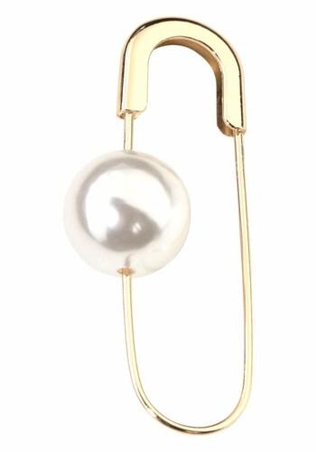 Broschen für Frauen - J. Jayz Brosche gold perlweiß  - Onlineshop ABOUT YOU