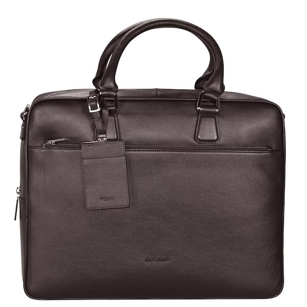 Businesstaschen für Frauen - Picard Maggie Aktentasche Leder 39 cm Laptopfach mokka  - Onlineshop ABOUT YOU