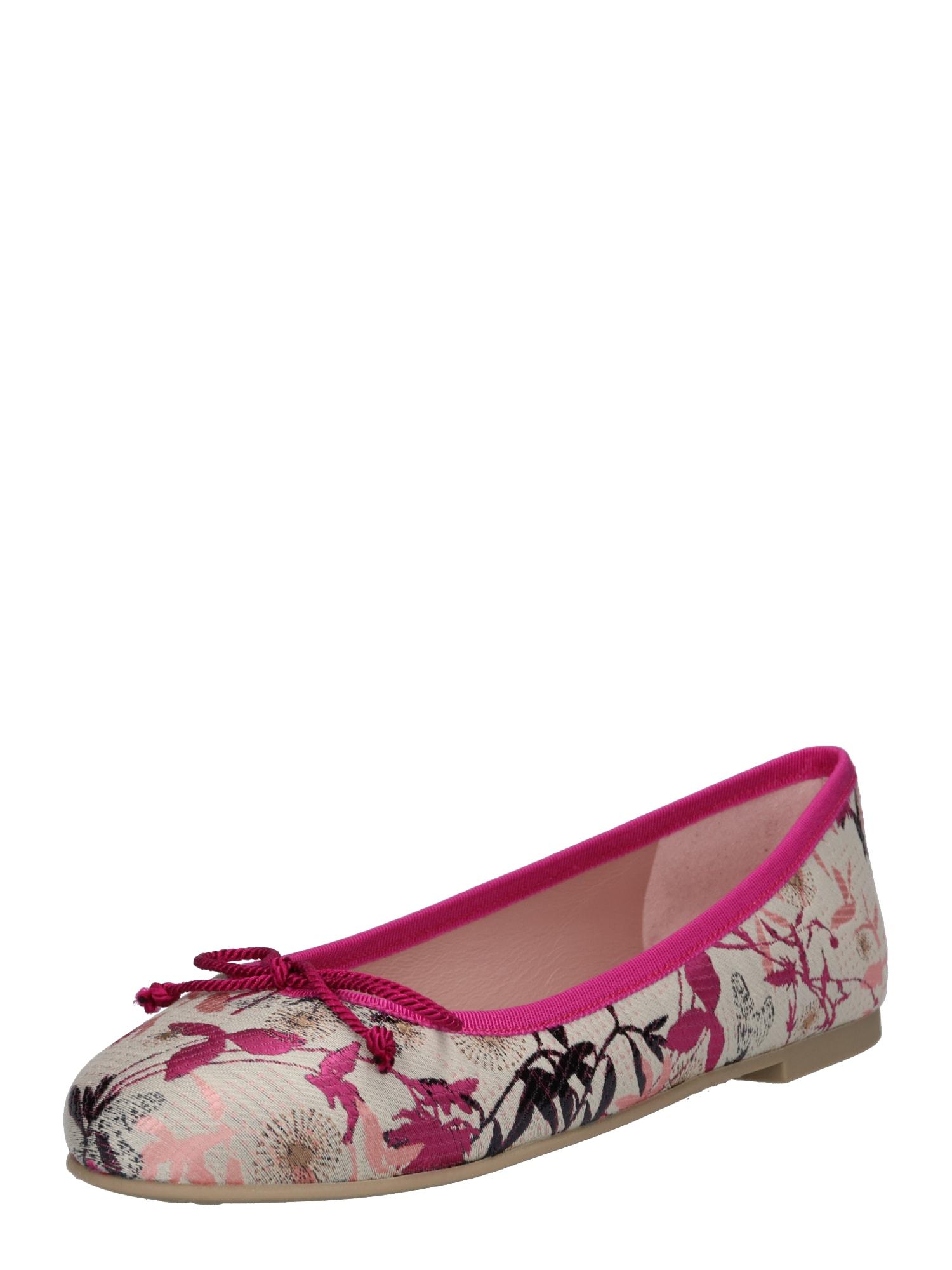 Baleríny Valentine béžová pink PRETTY BALLERINAS