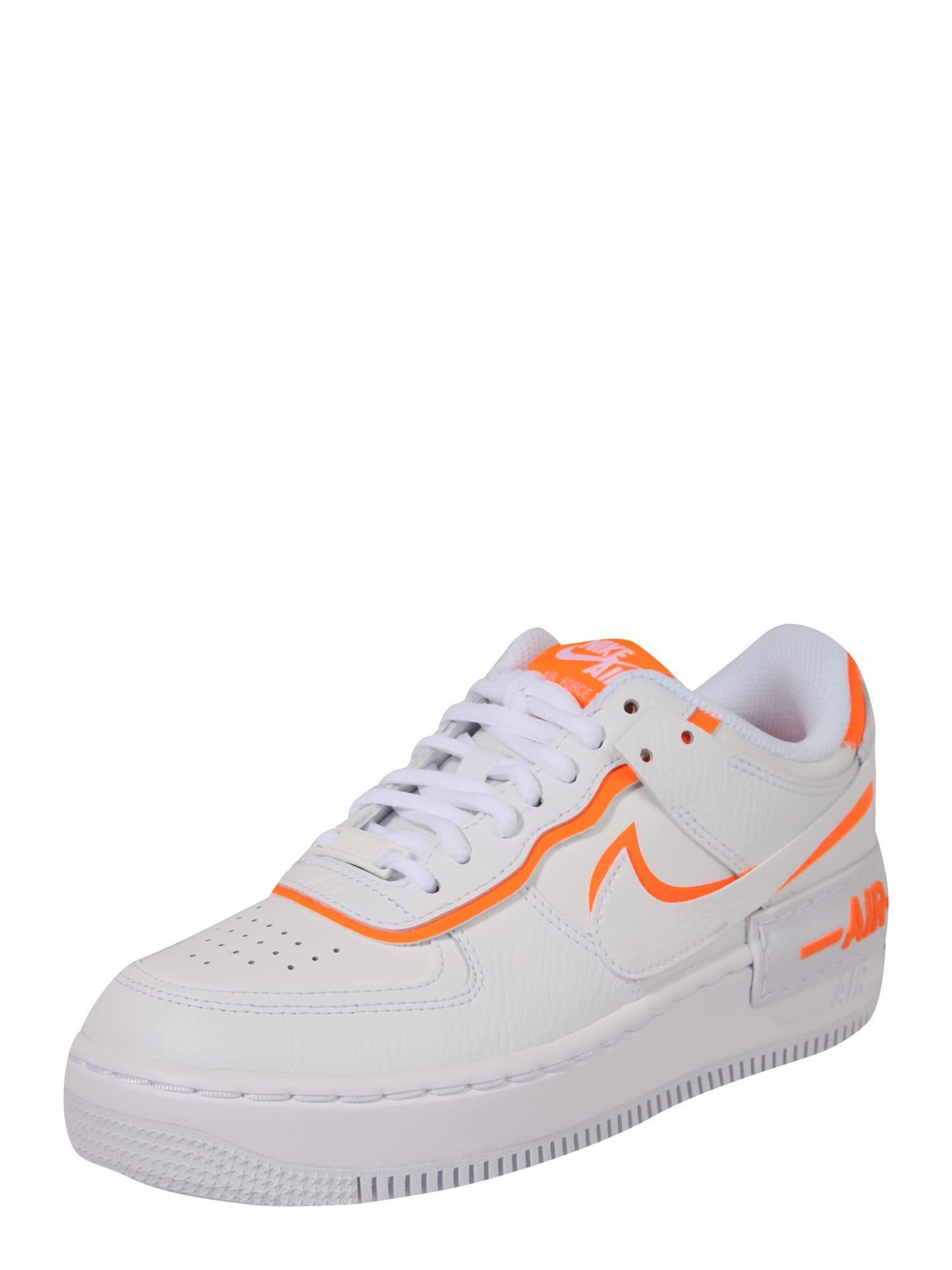 Nike Sportswear Nízke tenisky 'AF1'  biela / oranžová