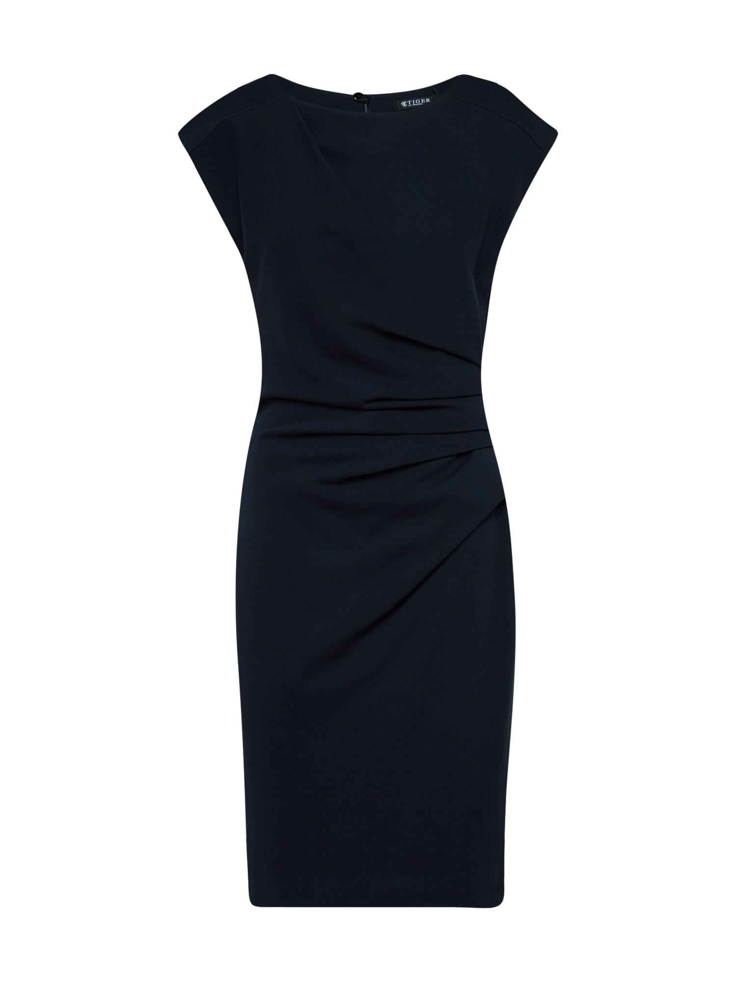 Tiger of Sweden Trumpa kokteilinė suknelė tamsiai mėlyna