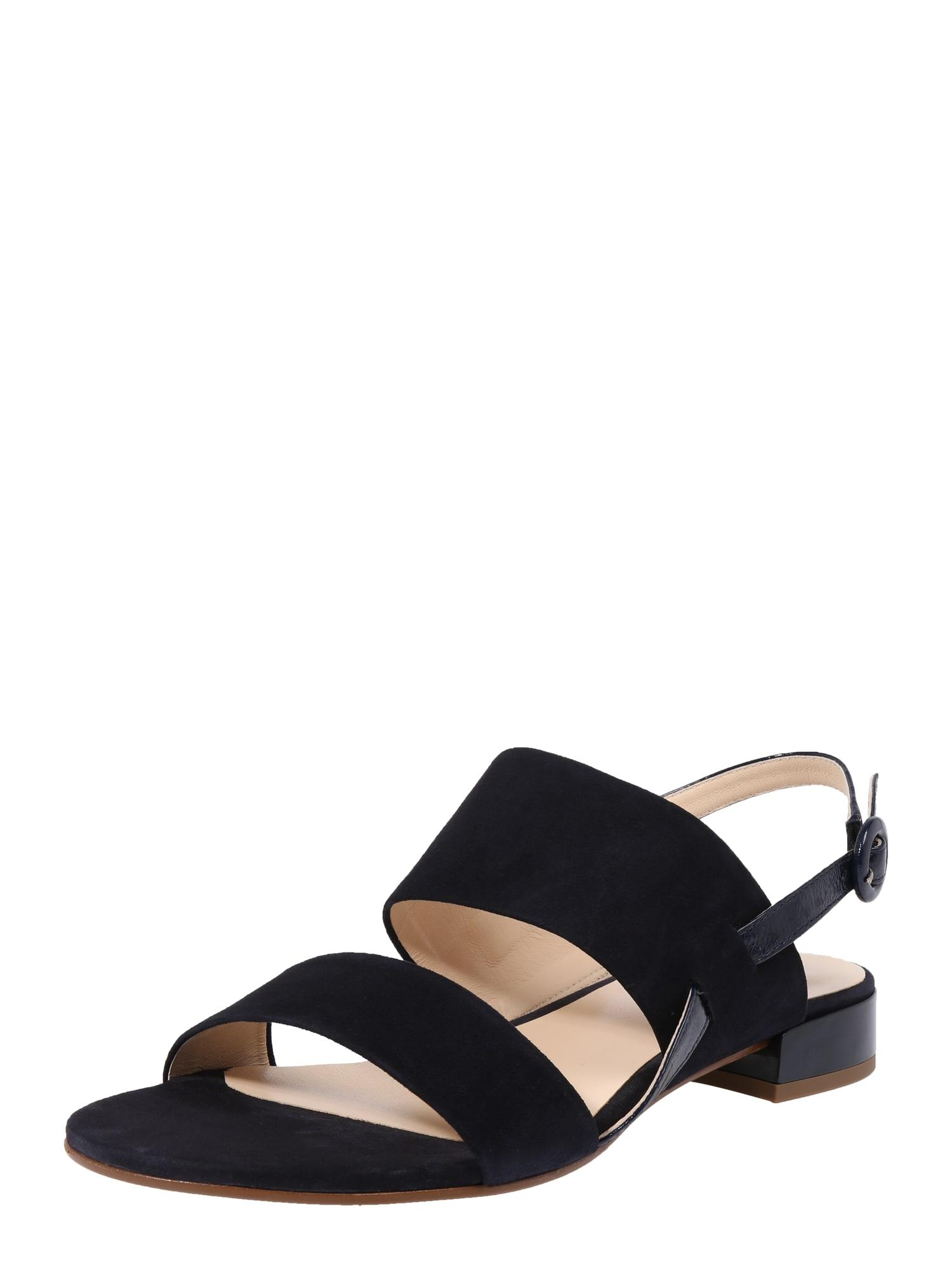Páskové sandály kobaltová modř Högl