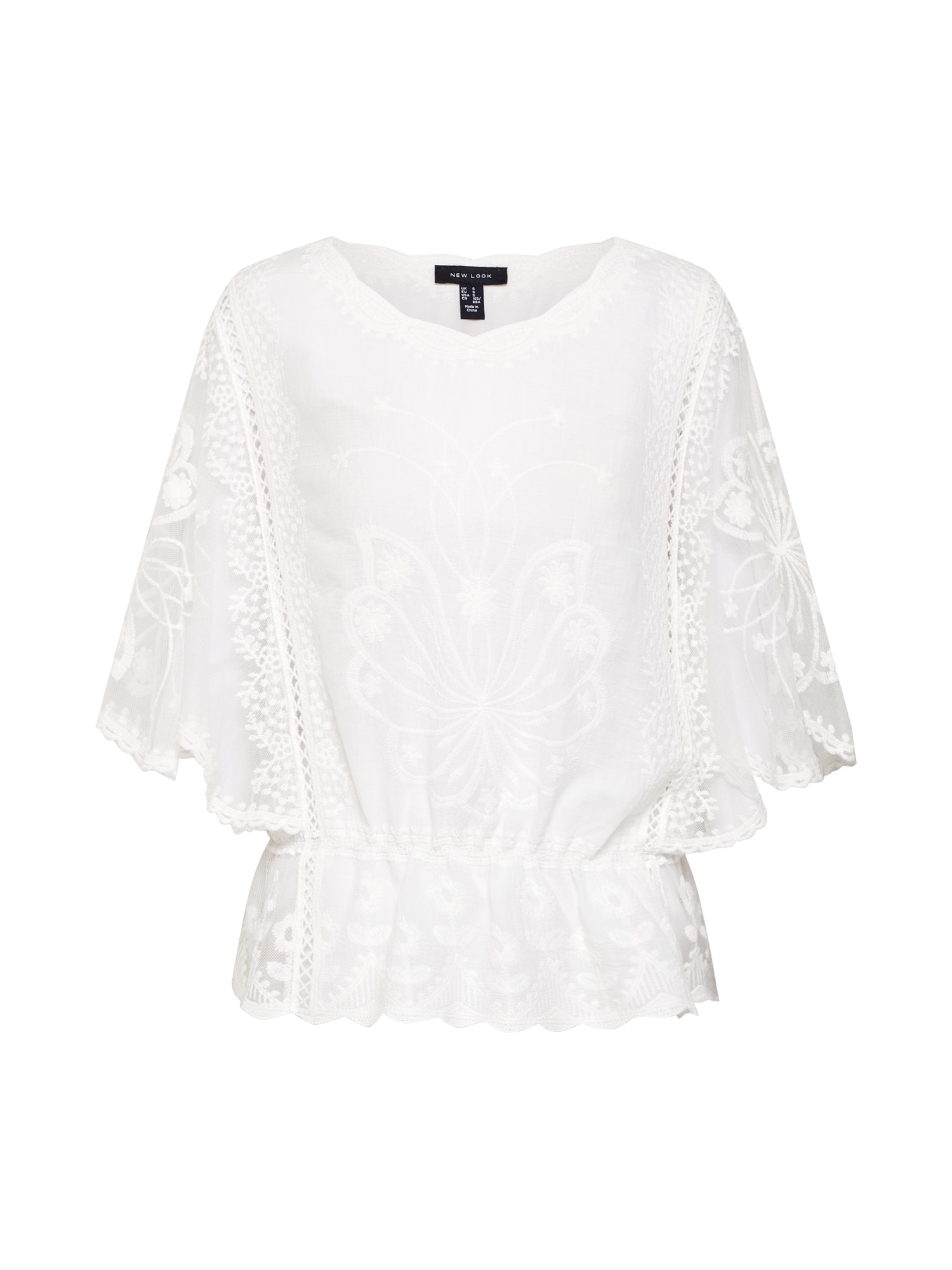 Tričko Emily bílá NEW LOOK