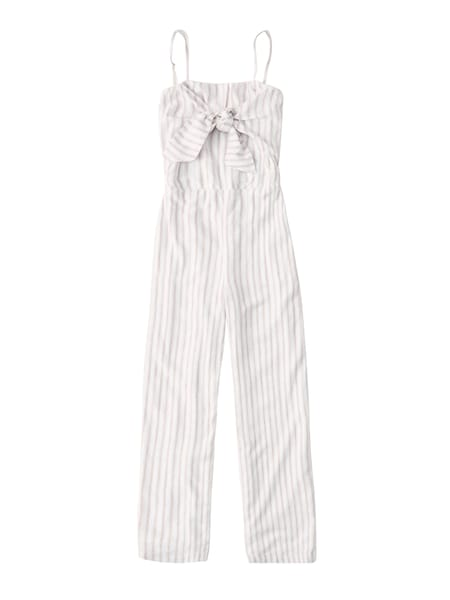 Hosen - Overalls › Abercrombie Fitch › beige weiß  - Onlineshop ABOUT YOU