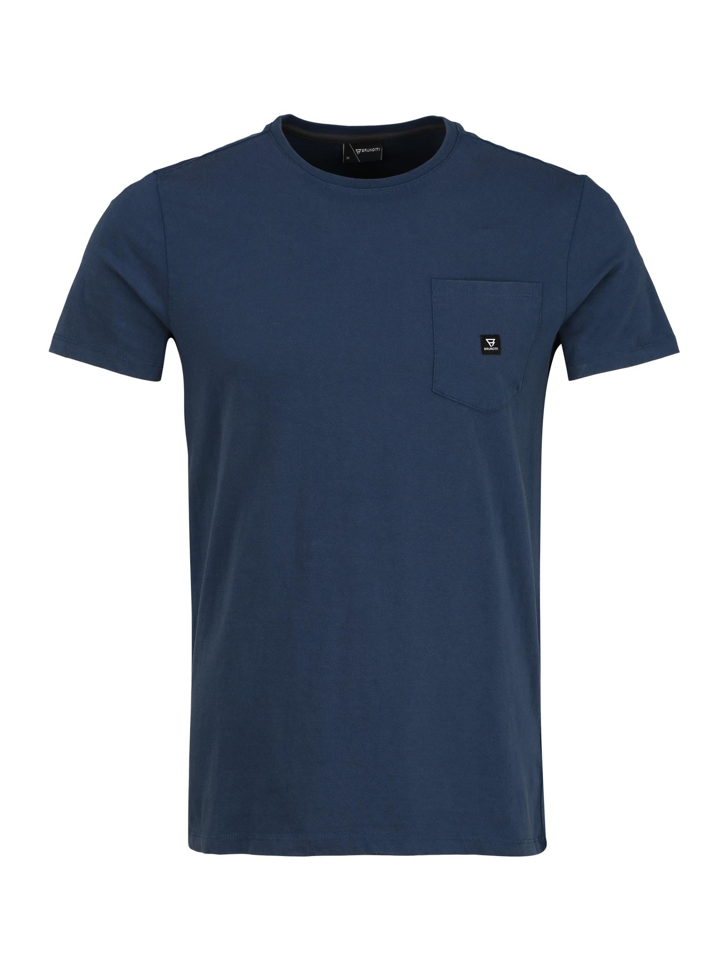 BRUNOTTI Sportiniai marškinėliai 'Axle SS20' mėlyna