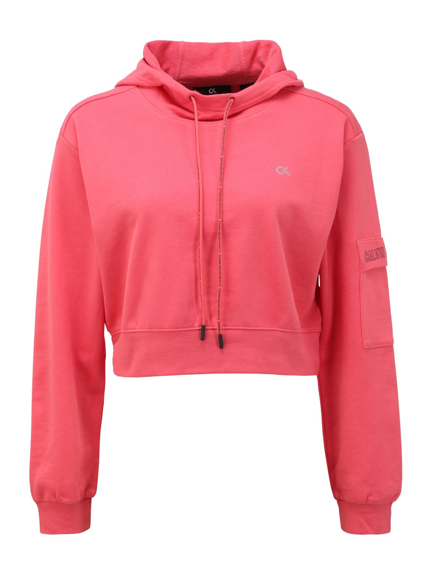 Calvin Klein Performance Sportinio tipo megztinis raudona