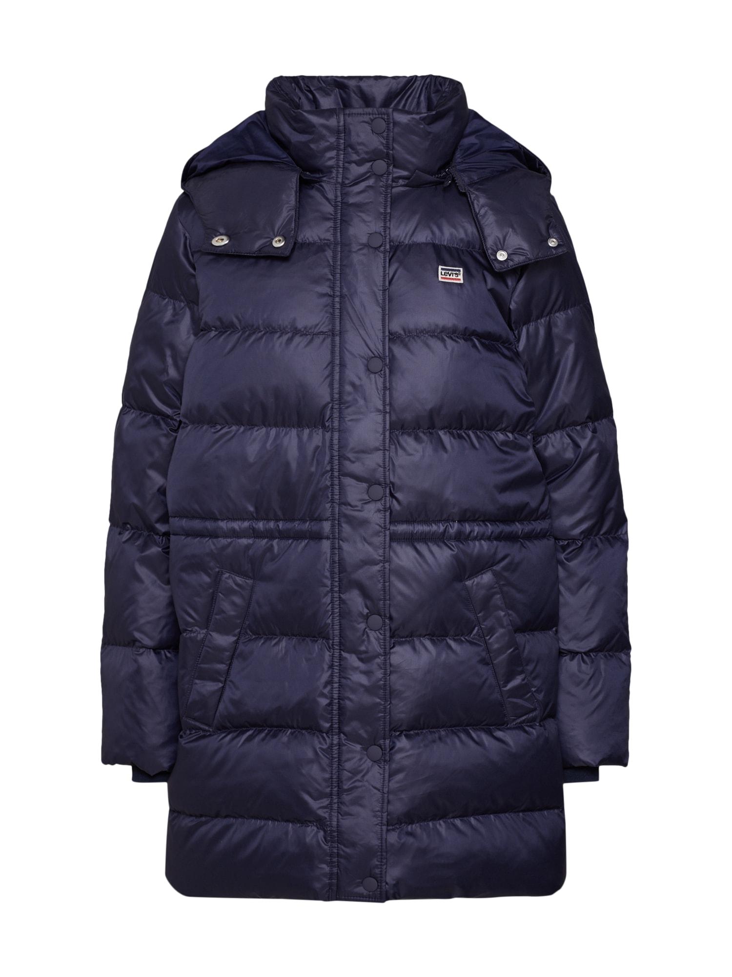 LEVI'S Žieminis paltas 'KELLI' violetinė-mėlyna