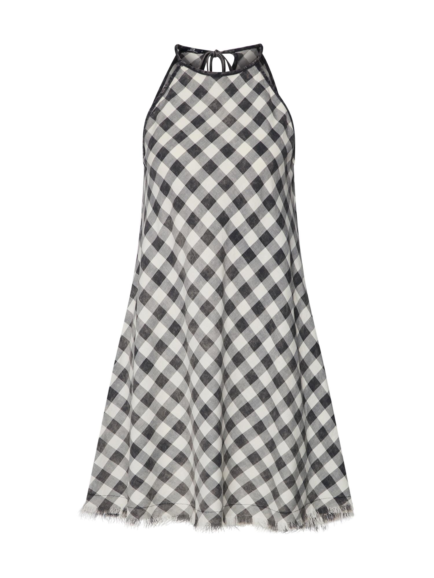 Letní šaty Yumia černá bílá LTB